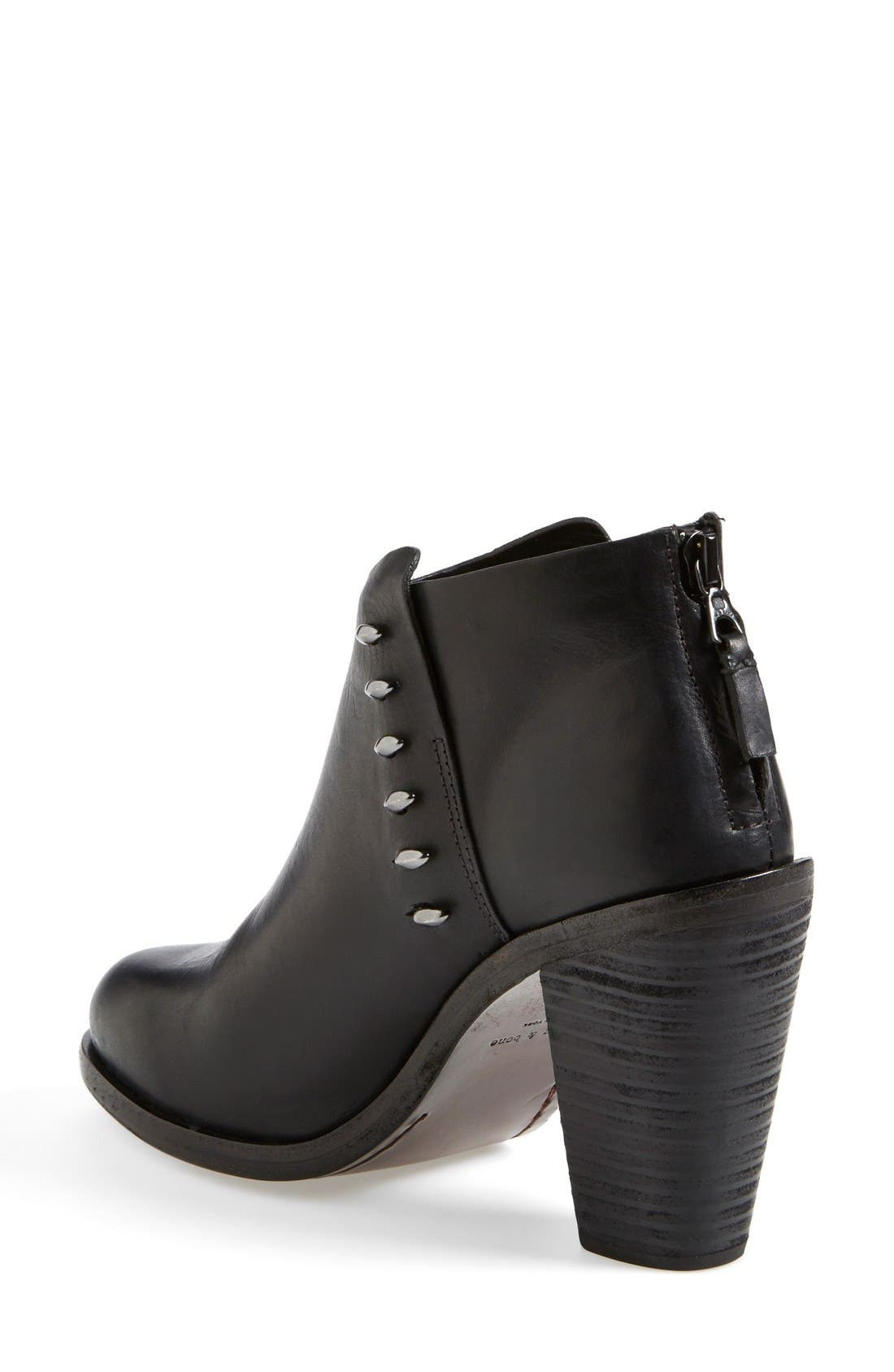 Alternate Image 2  - rag & bone 'Alwyn' Leather Ankle Boot (Women)