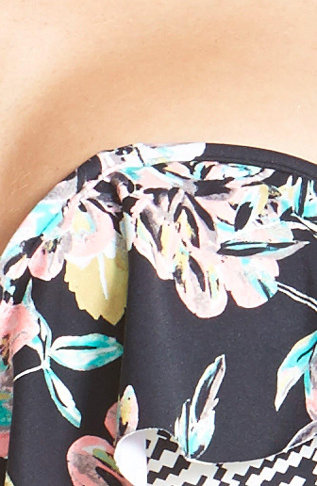 Alternate Image 5  - O'Neill 'Marina' Ruffled Bandeau Bikini Top