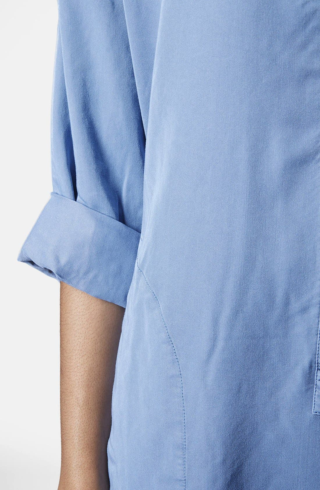 Alternate Image 3  - Topshop Relaxed Shirtdress