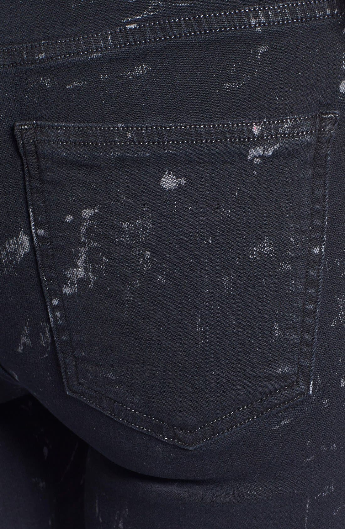 Alternate Image 3  - Citizens of Humanity 'Rocket' Skinny Jeans (Starry Black)