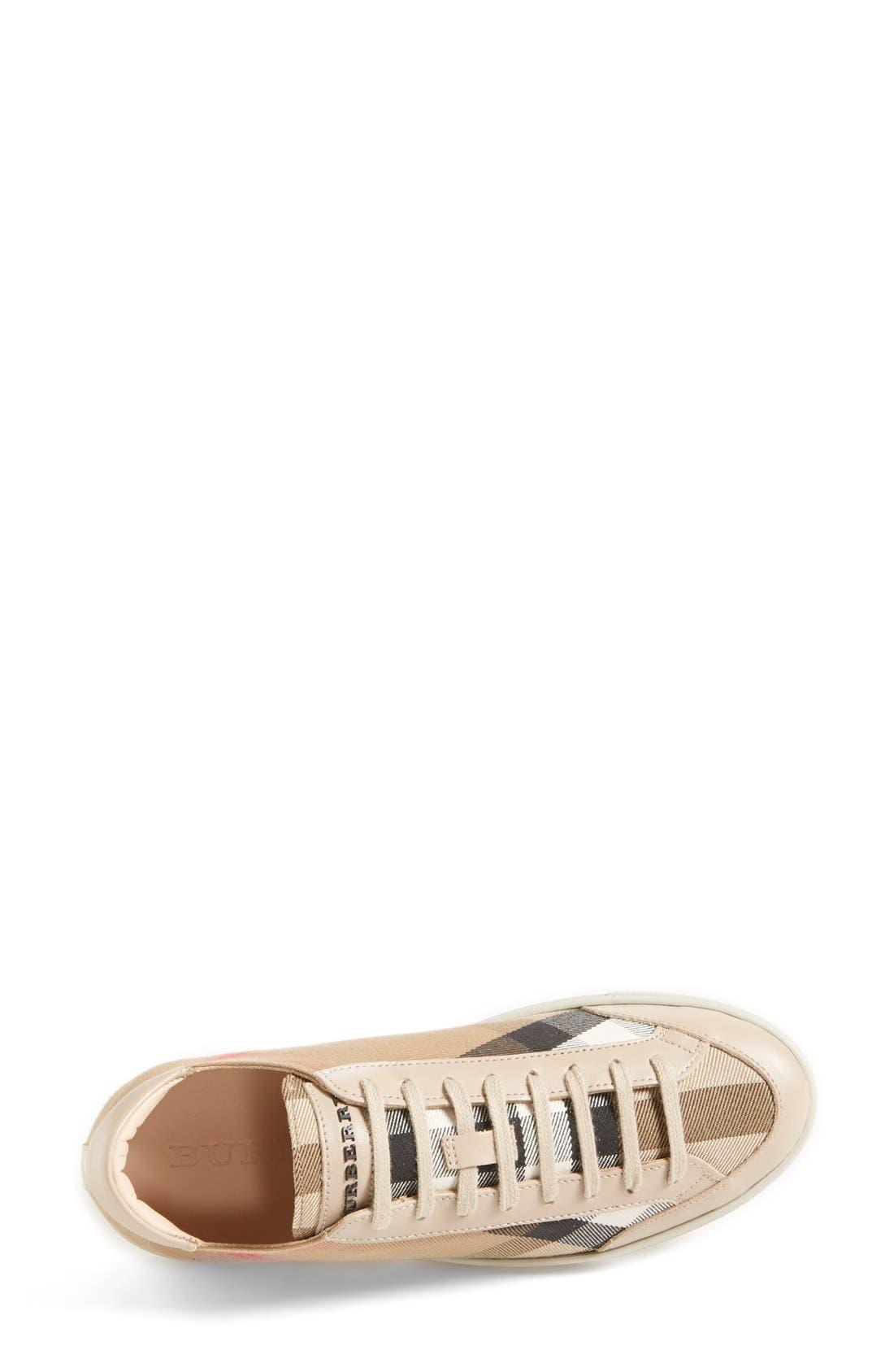 Alternate Image 3  - Burberry 'Hartfields' Sneaker (Women)