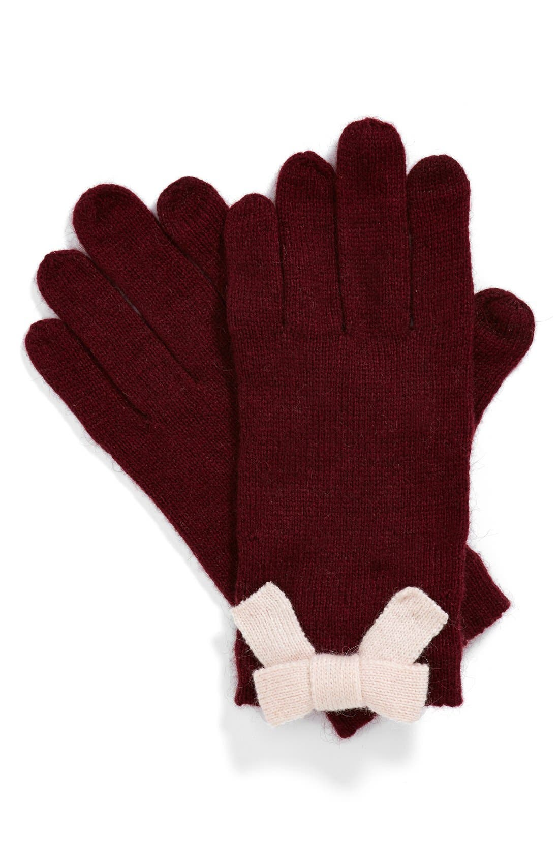 Alternate Image 1 Selected - kate spade new york bow gloves