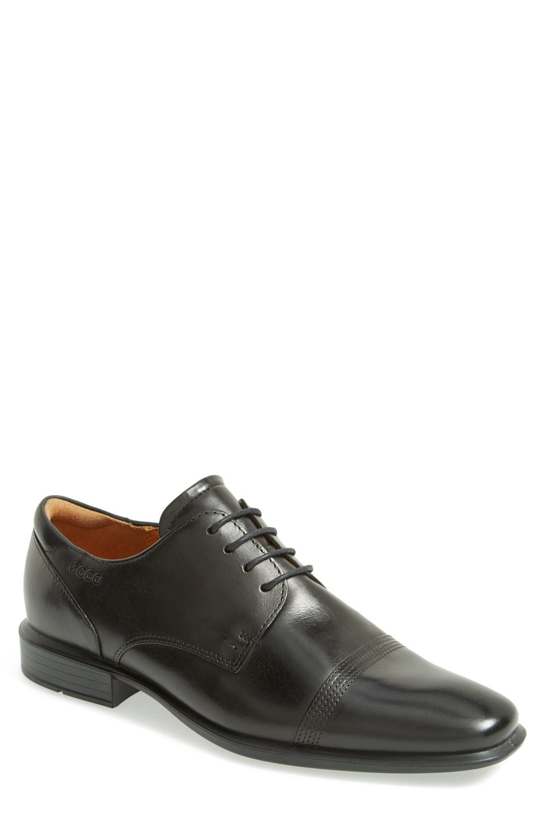 Alternate Image 1 Selected - ECCO 'Cairo' Cap Toe Derby (Men)