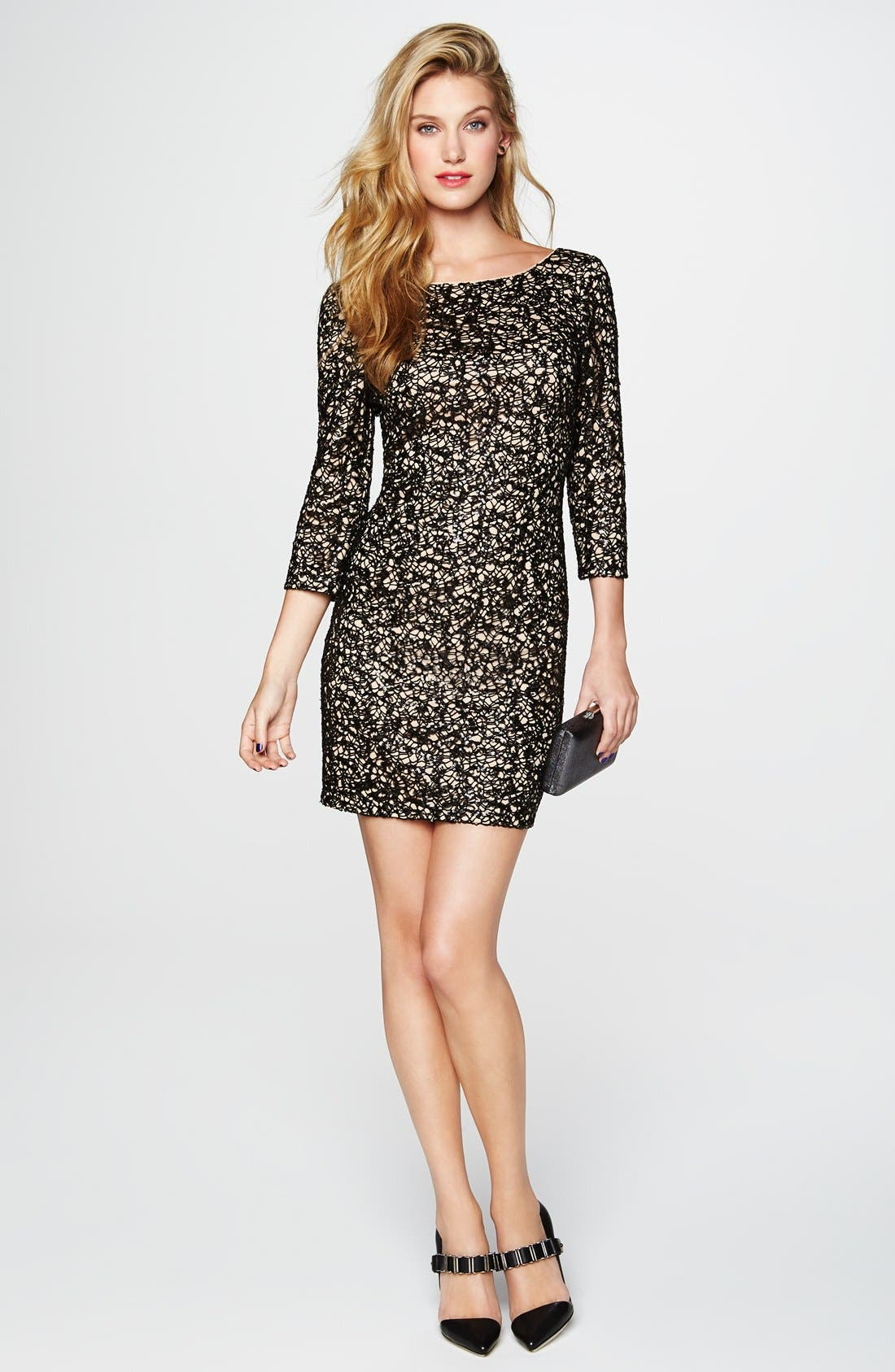 Alternate Image 5  - Aidan by Aidan Mattox Sequin Sheath Dress