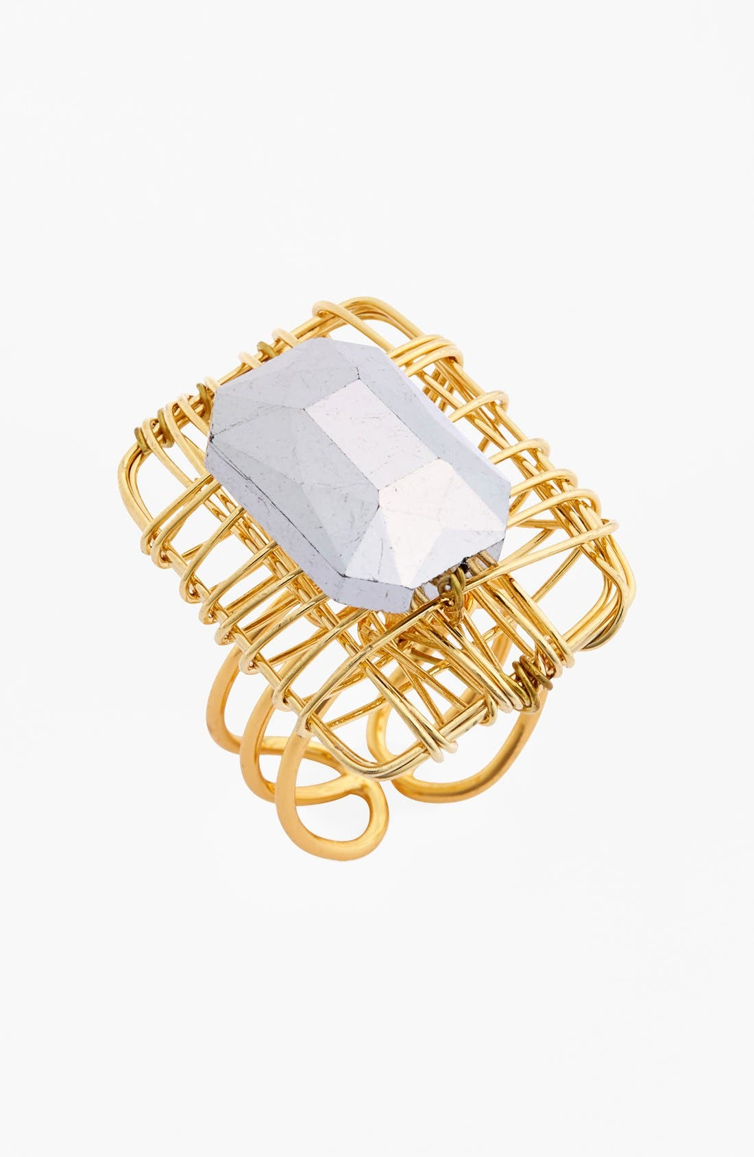 Alternate Image 1 Selected - Panacea Adjustable Wire Ring
