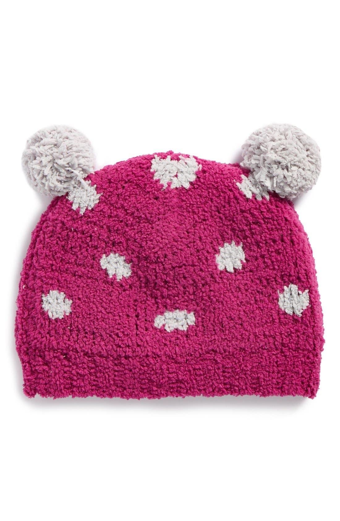 Main Image - Tucker + Tate Fuzzy Pompom Hat (Baby)