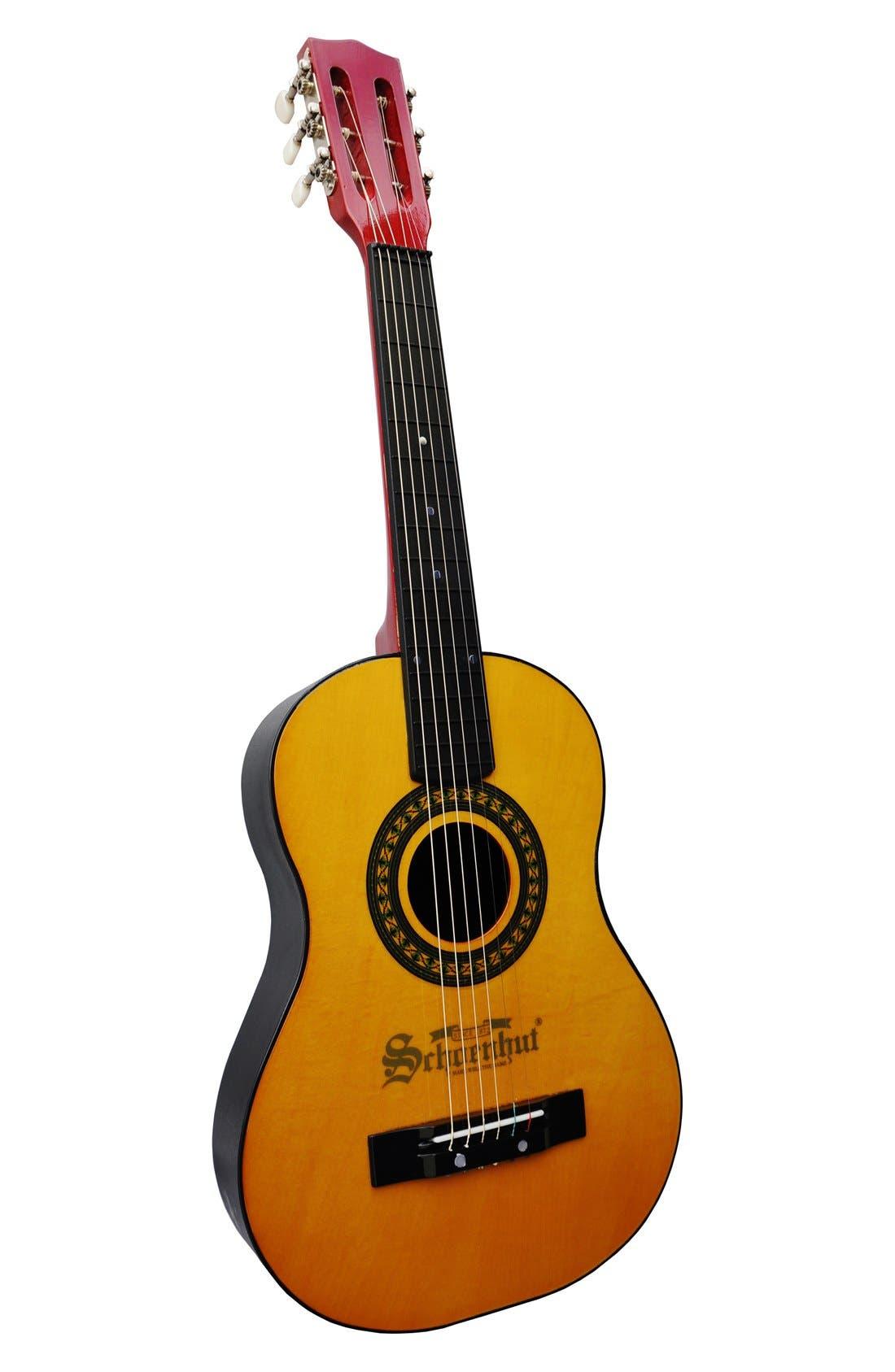 Six-String Acoustic Guitar,                             Main thumbnail 1, color,                             Oak/ Natural