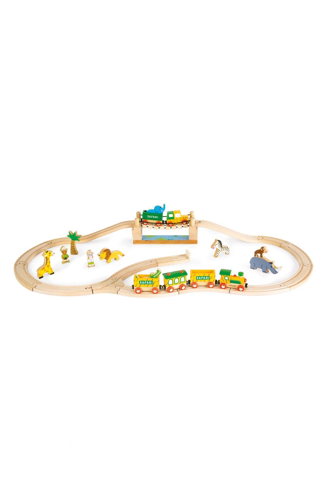 'Story Express - Safari' Train Set,                             Main thumbnail 1, color,                             Red