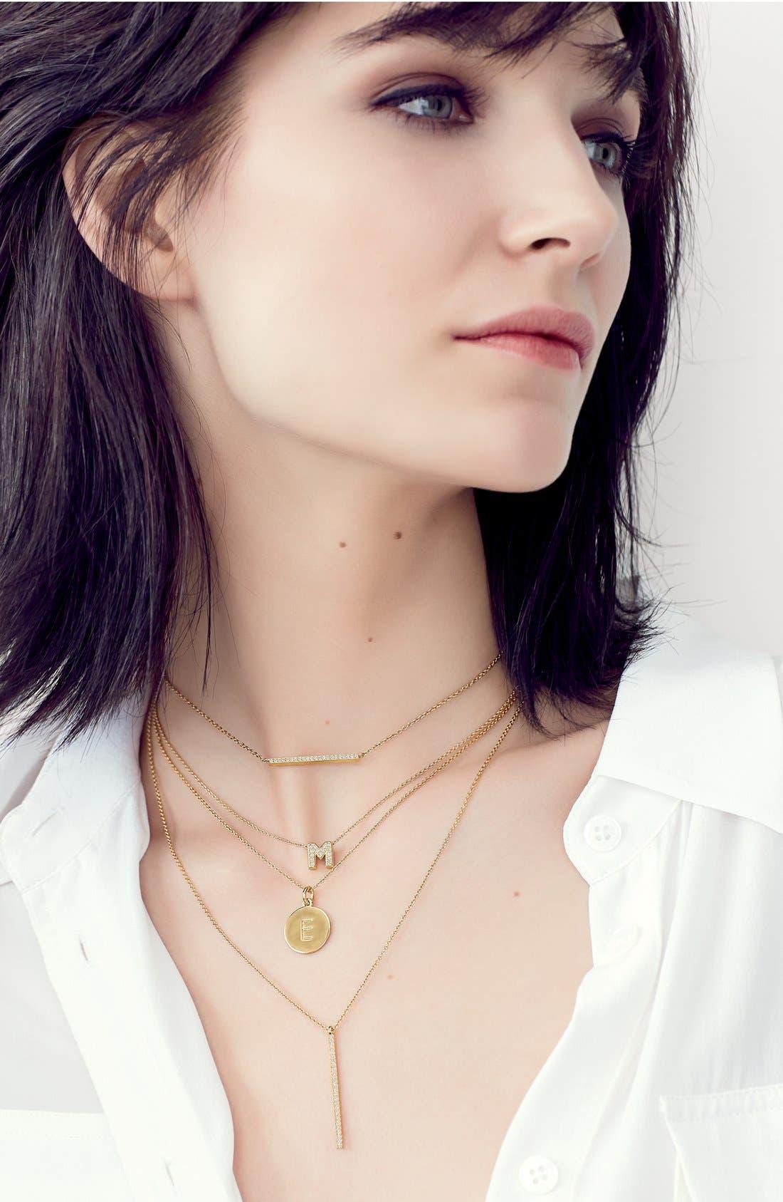 Alternate Image 4  - Nadri Boxed Initial Pendant Necklace