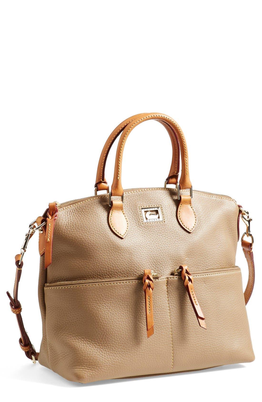 Main Image - Dooney & Bourke 'Dillen' Zip Pocket Satchel (Online Only)