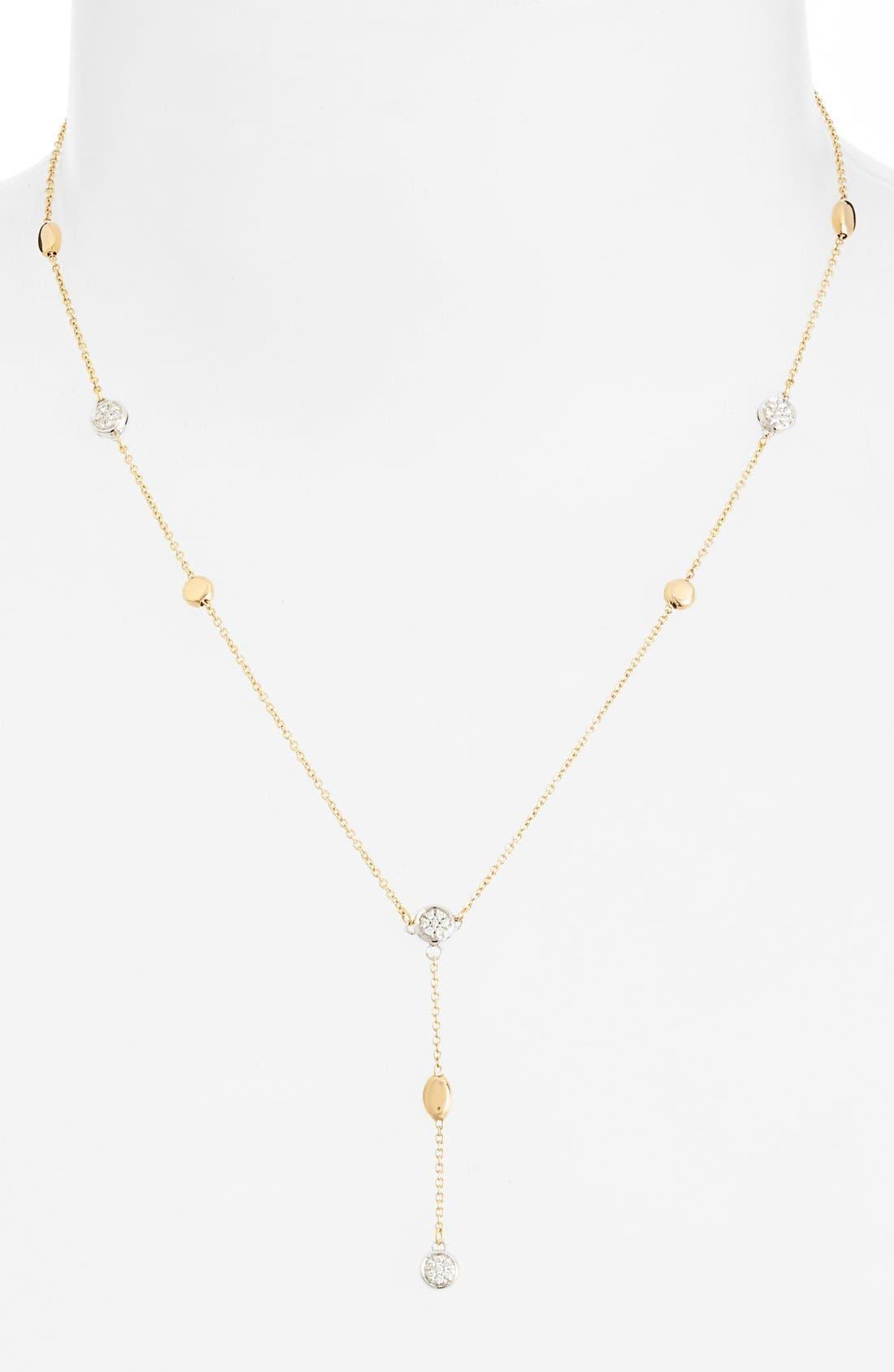 Main Image - Roberto Coin Diamond Station Y-Necklace