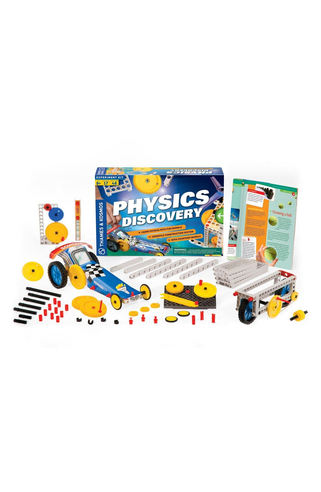 'Physics Discovery 2.0' Experiment Kit,                             Main thumbnail 1, color,                             None