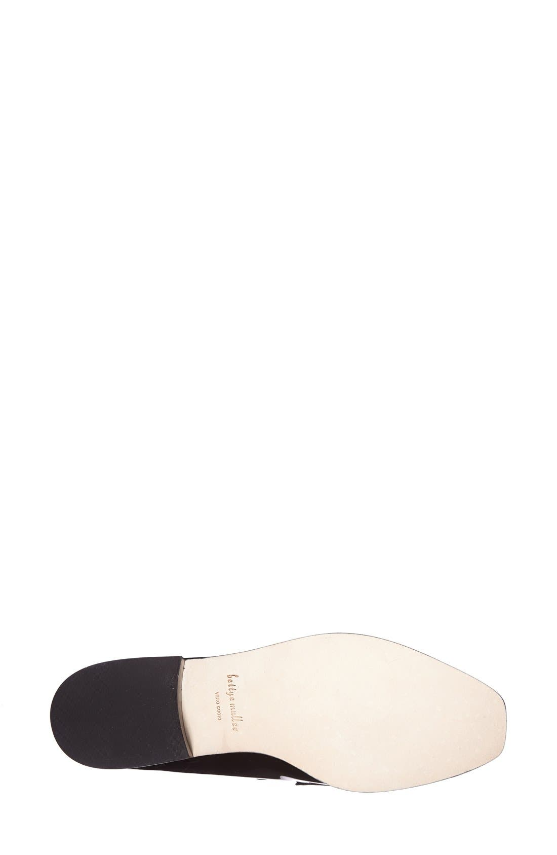 Alternate Image 4  - Bettye Muller 'Pearl' Patent Leather Loafer (Women)