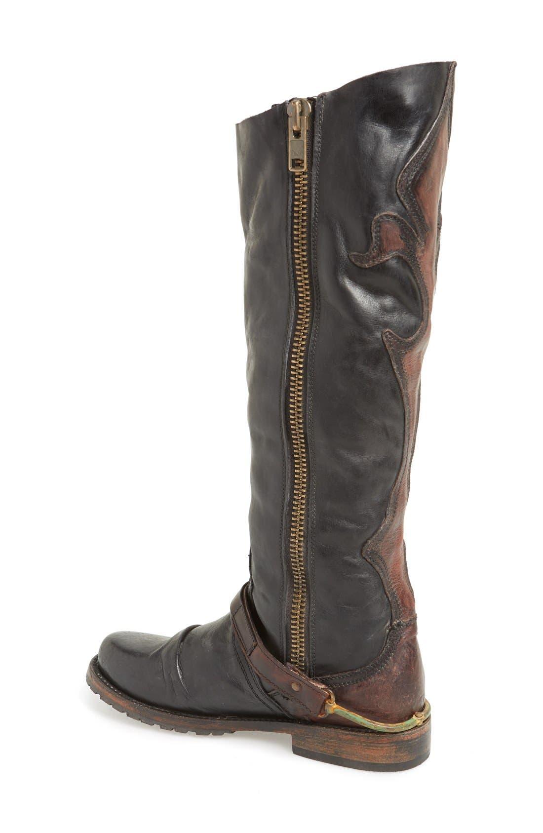 Alternate Image 2  - Freebird by Steven 'Lyon' Leather Riding Boot (Women)