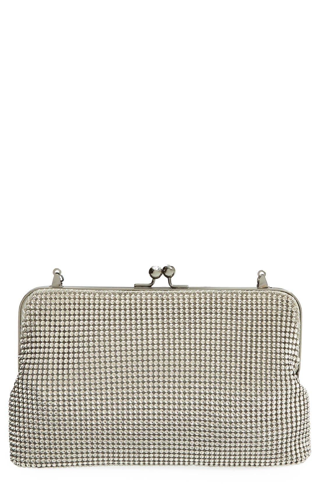 Alternate Image 1 Selected - Whiting & Davis Mesh Clutch