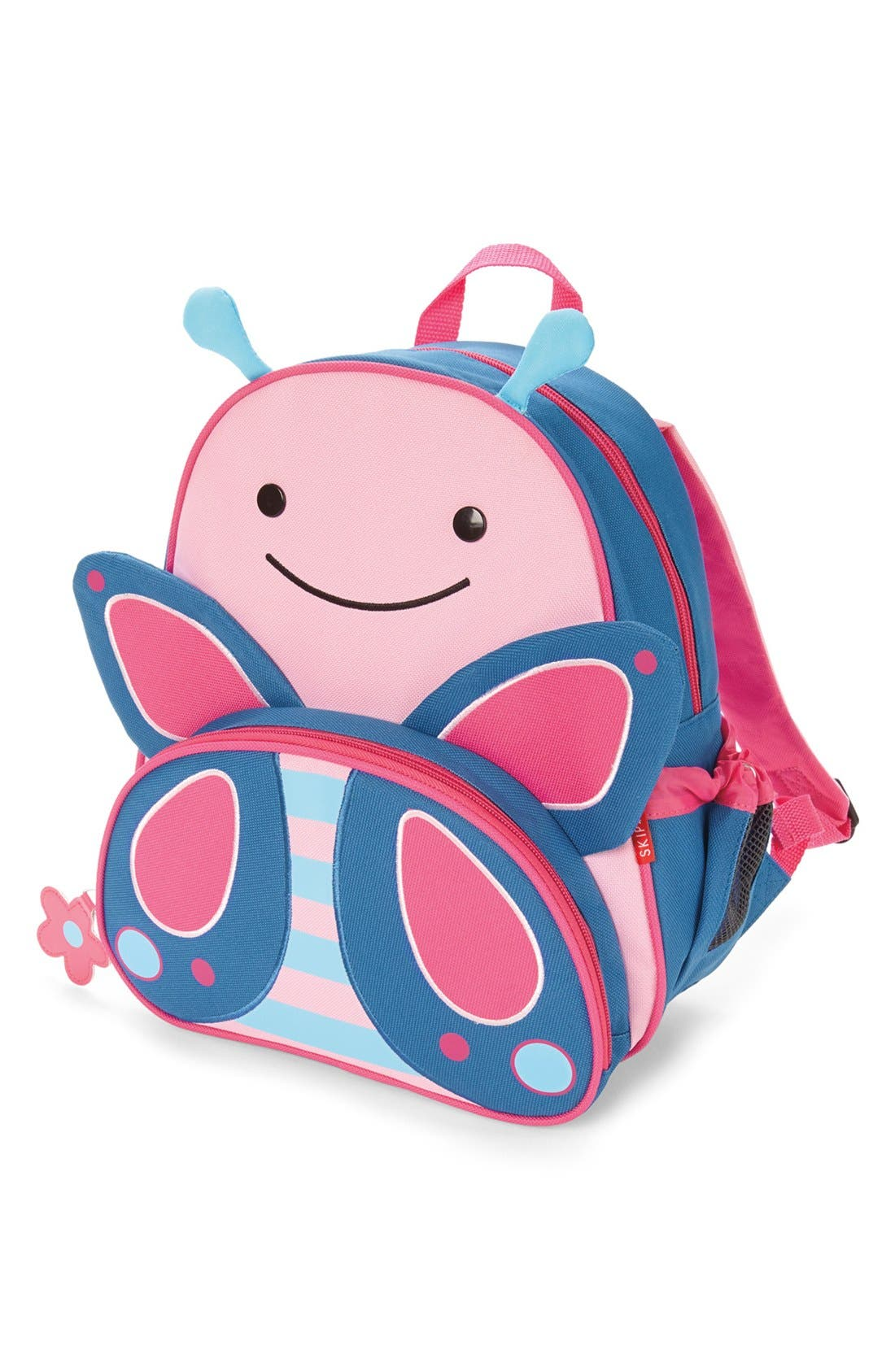 Zoo Pack Backpack,                             Alternate thumbnail 2, color,                             Pink Solid