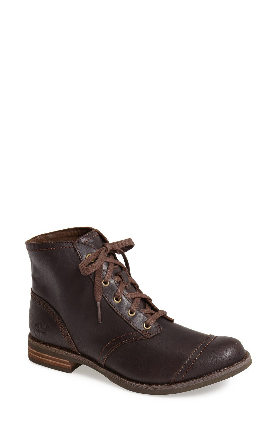 Alternate Image 1 Selected - Timberland 'Savin Hill' Leather Chukka Bootie (Women)