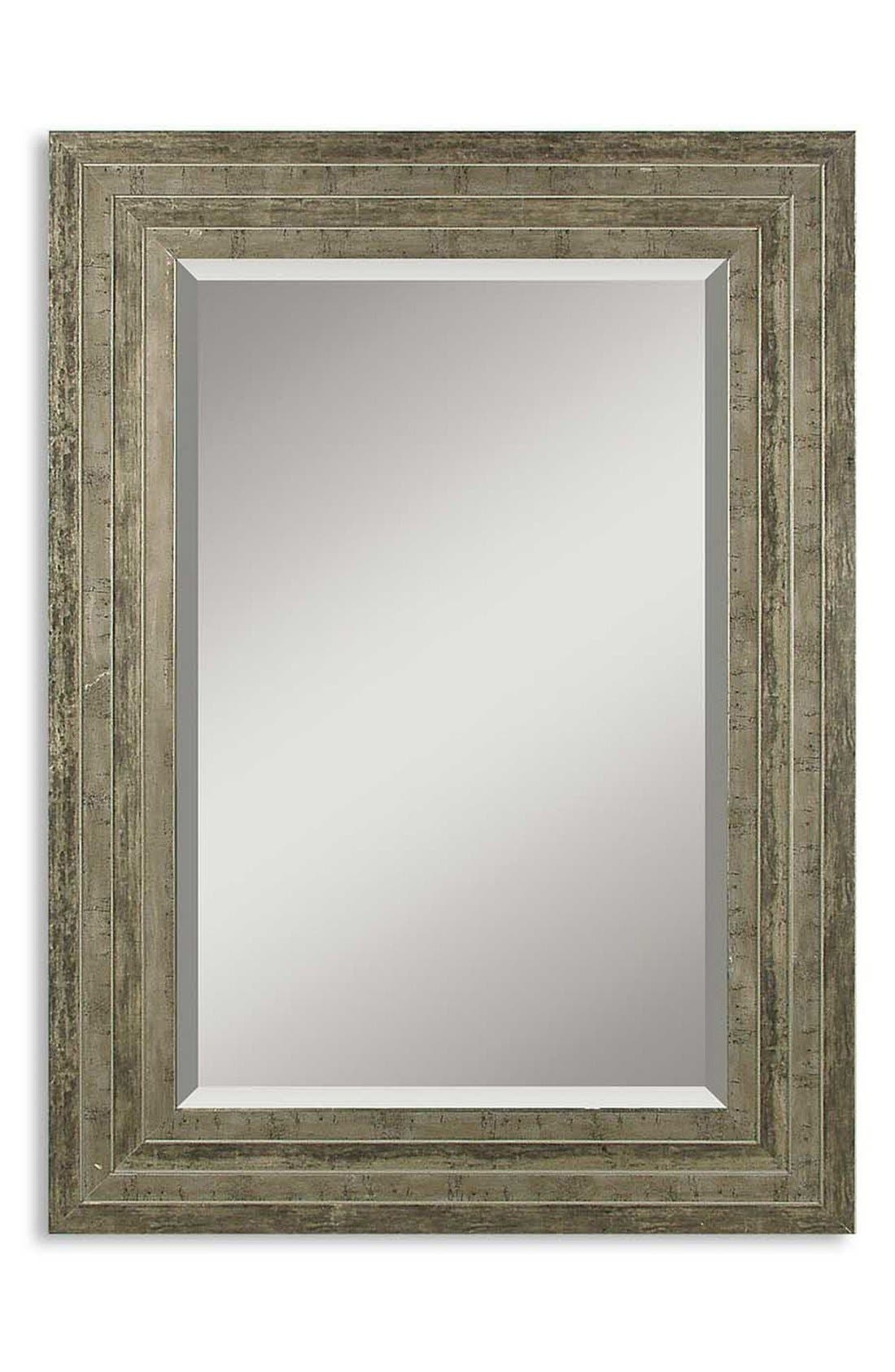 'Hallmar' Wall Mirror,                             Main thumbnail 1, color,                             Silver