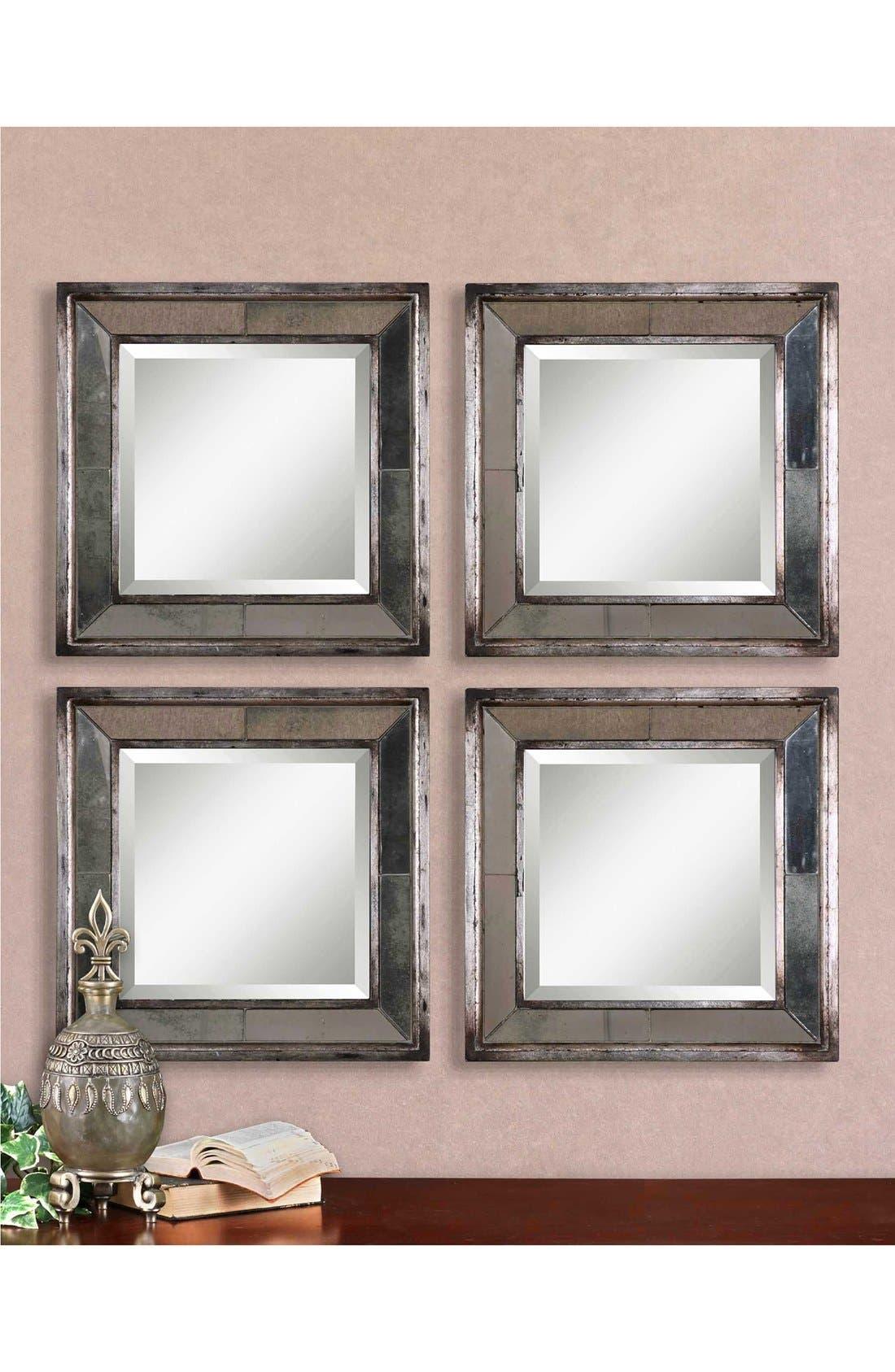 Alternate Image 2  - Uttermost 'Davion' Square Mirror (Set of 2)