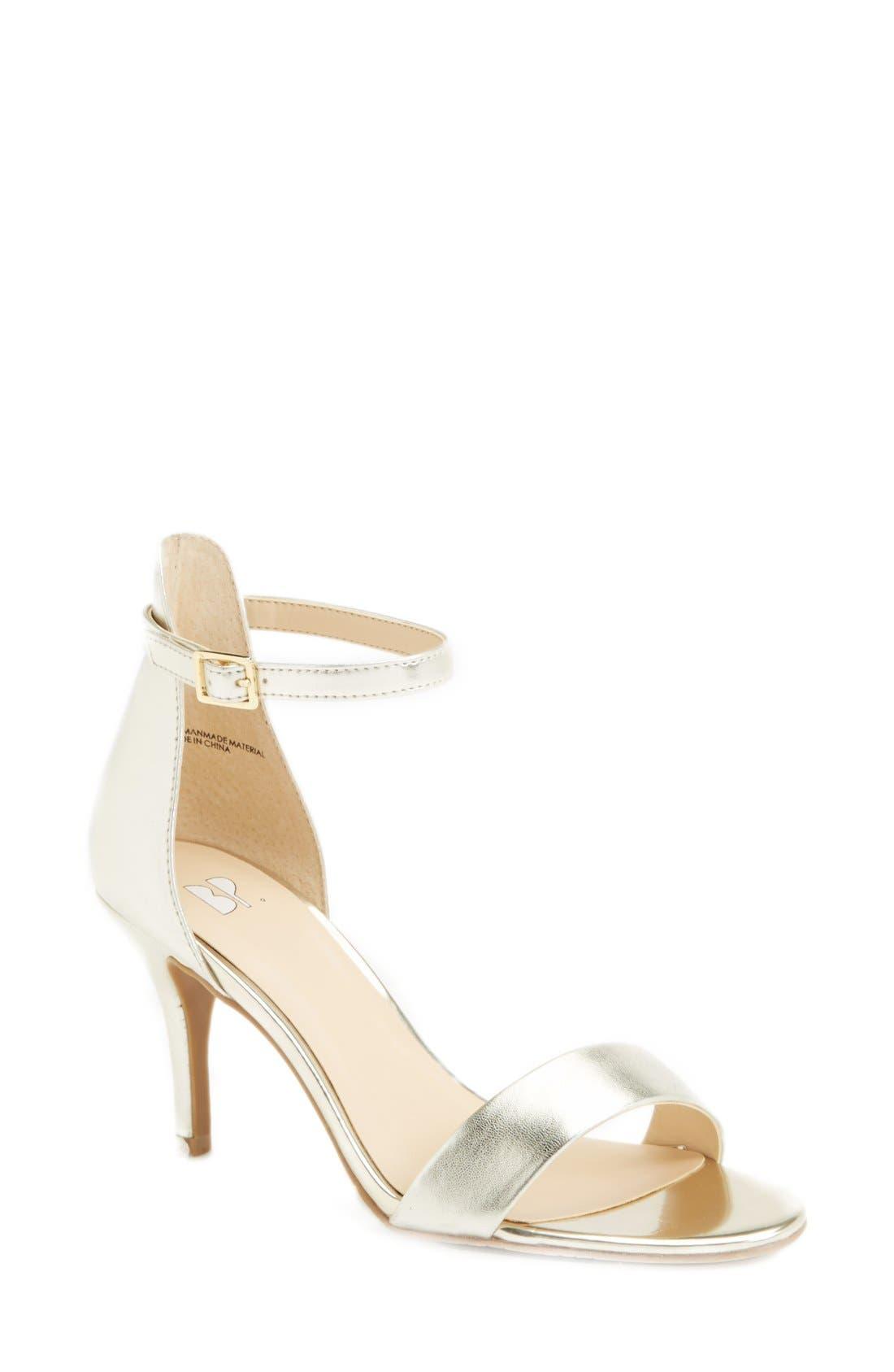 'Luminate' Open Toe Dress Sandal ...