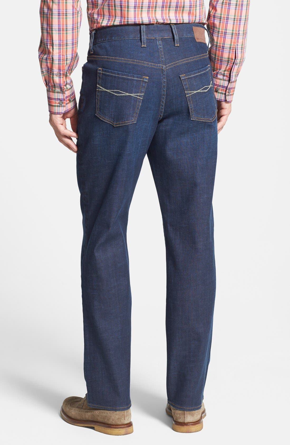 Greenwood Relaxed Fit Jeans,                             Alternate thumbnail 2, color,                             Venice Blue