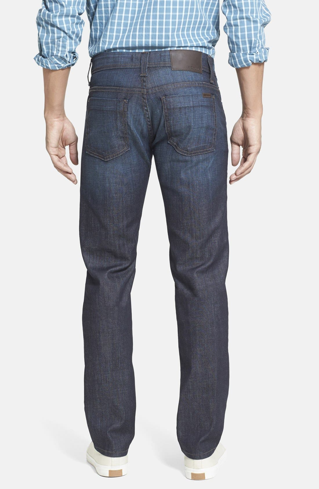 Alternate Image 2  - Fidelity Denim 'Jimmy' Slim Straight Leg Jeans (Harvard)