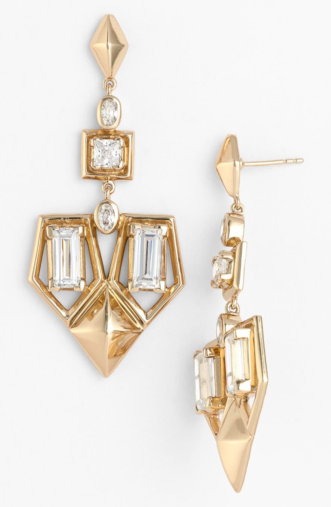 Alternate Image 1 Selected - Melinda Maria 'Lena' Drop Earrings