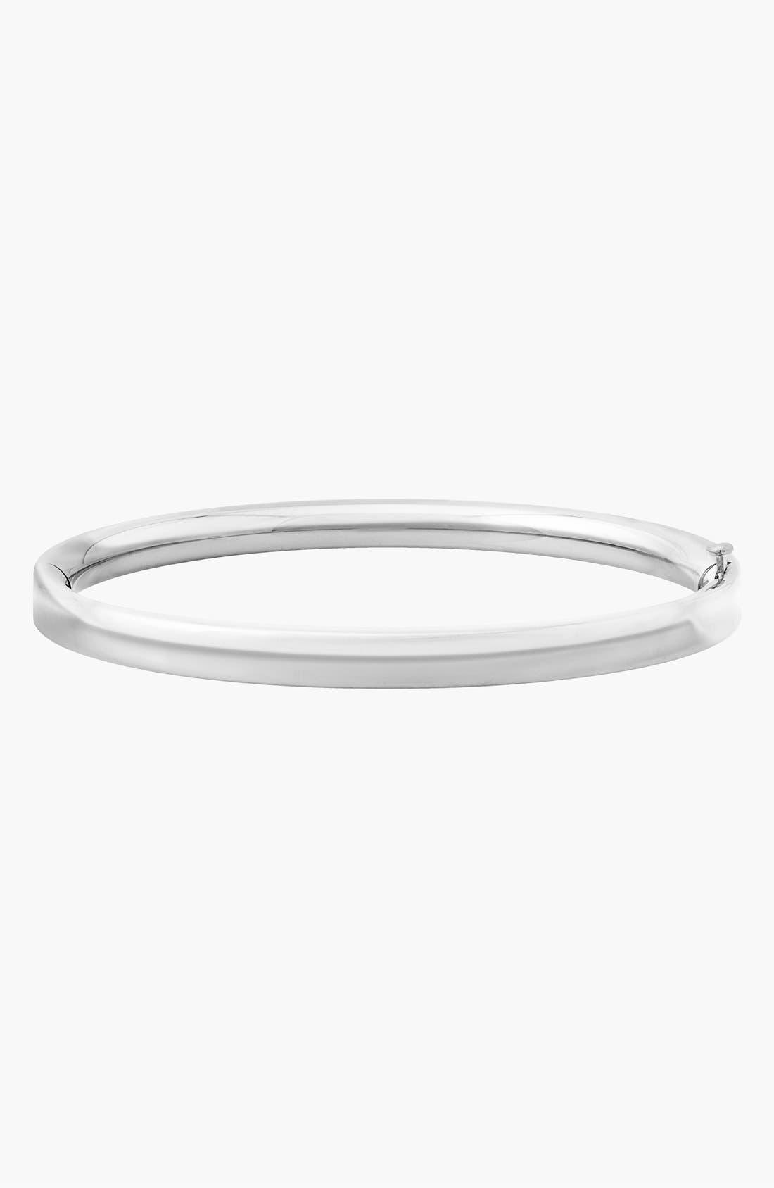 14k White Gold Bracelet,                         Main,                         color, White Gold