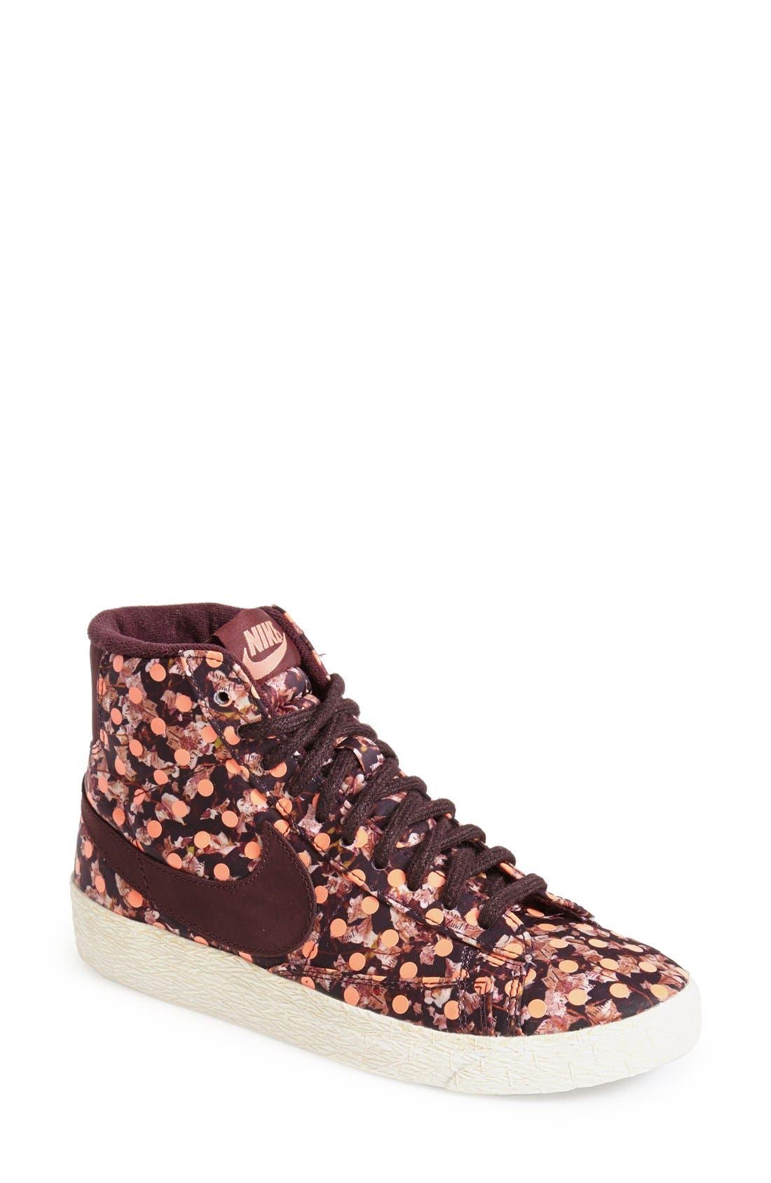 'Mid Vintage Liberty' Sneaker,                         Main,                         color, Burgundy