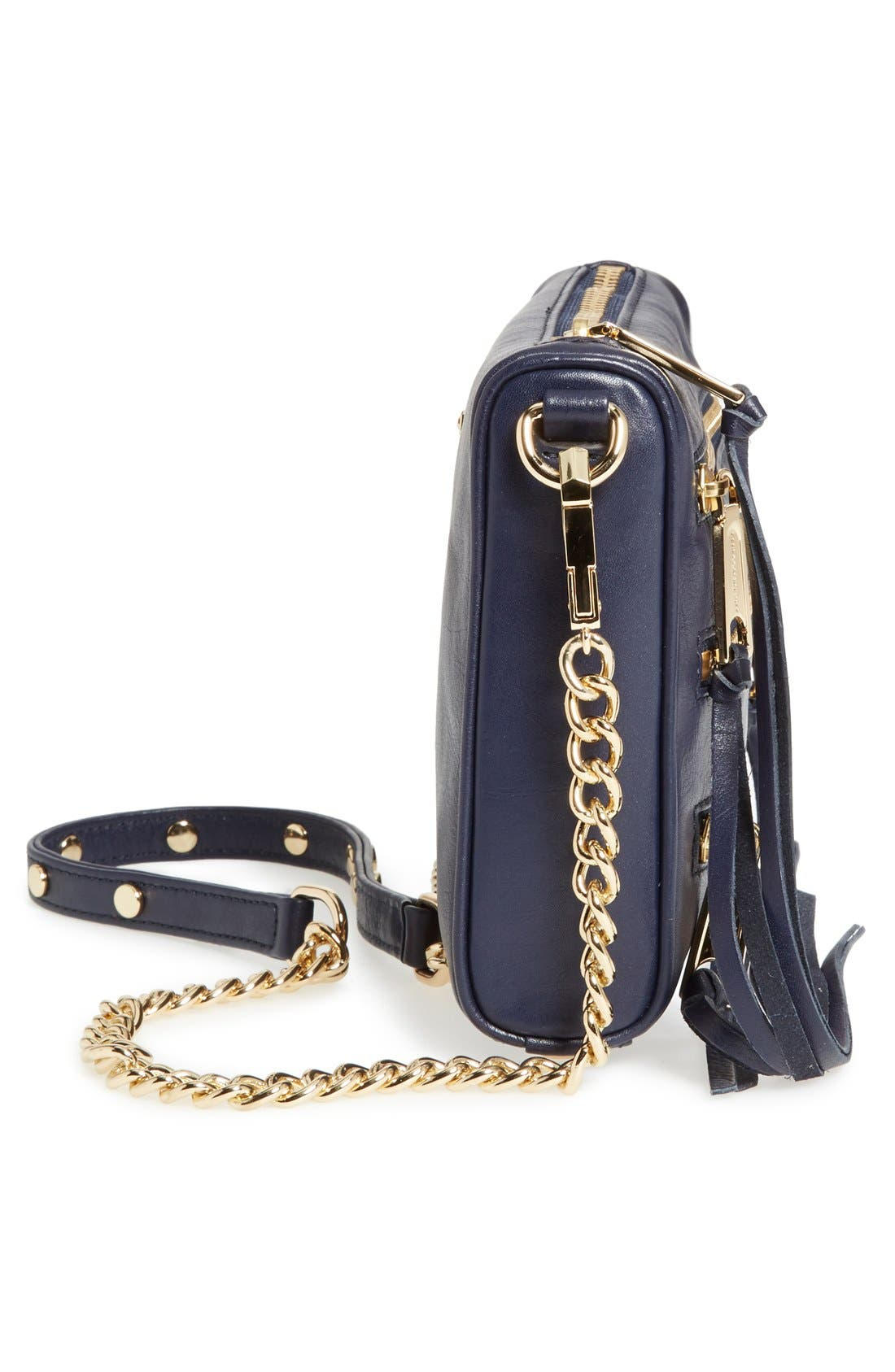 Alternate Image 5  - Rebecca Minkoff 'Mini 5-Zip' Convertible Crossbody Bag