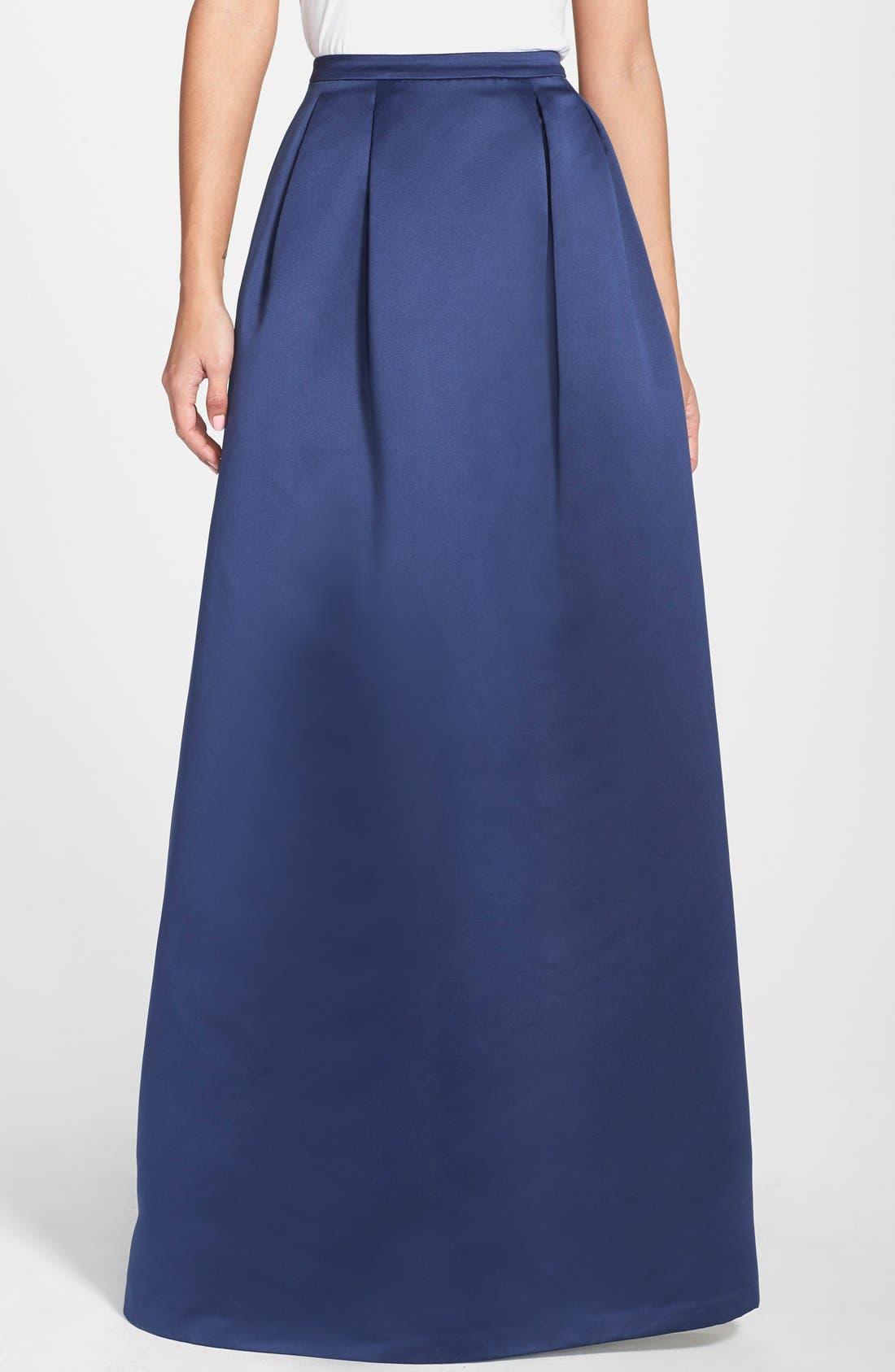 Alternate Image 1 Selected - ERIN erin fetherston 'Jacqueline' Peau de Soie Ball Skirt