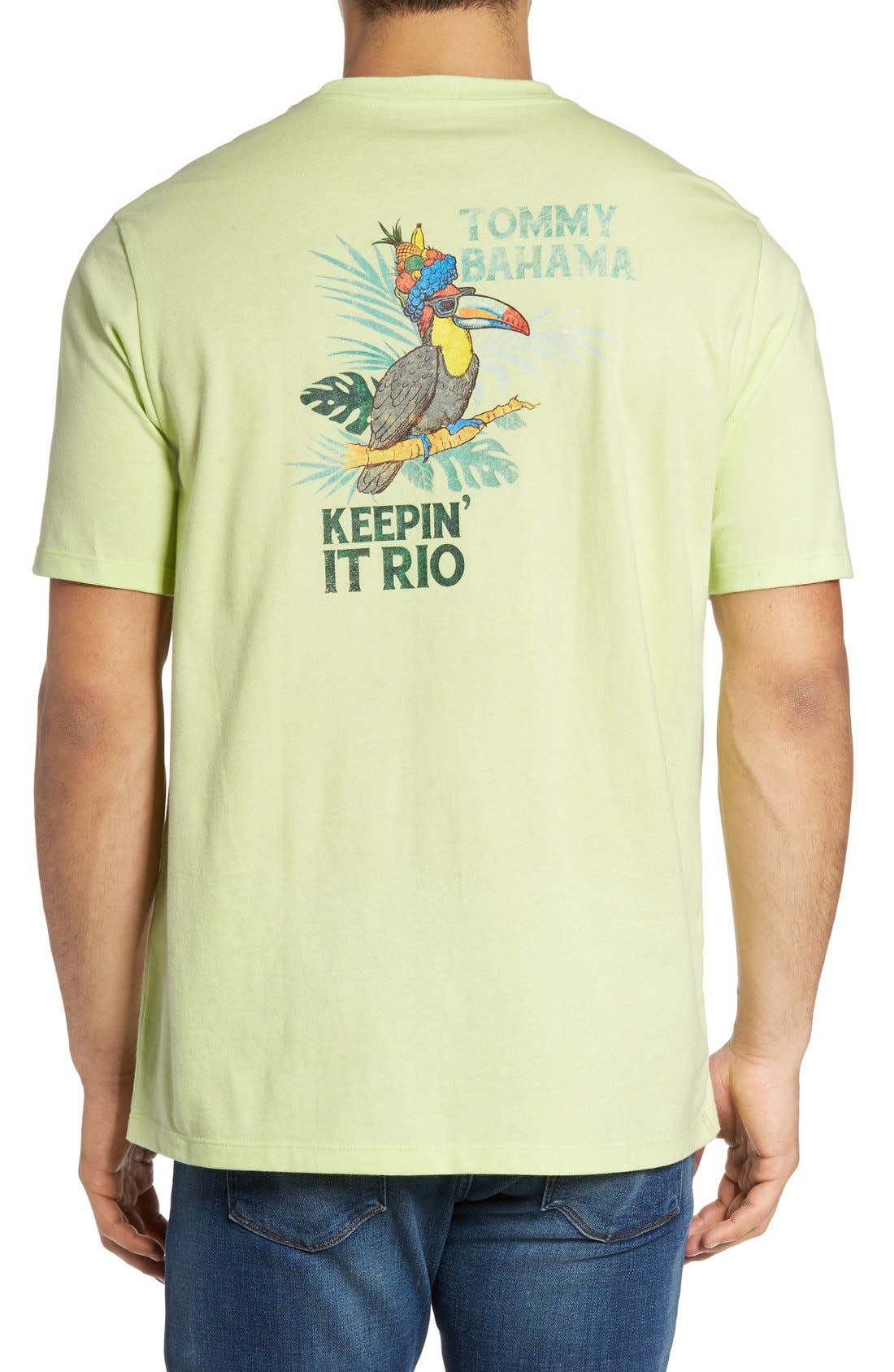 Alternate Image 1 Selected - Tommy Bahama Keeping It Rio Graphic T-Shirt (Big & Tall)