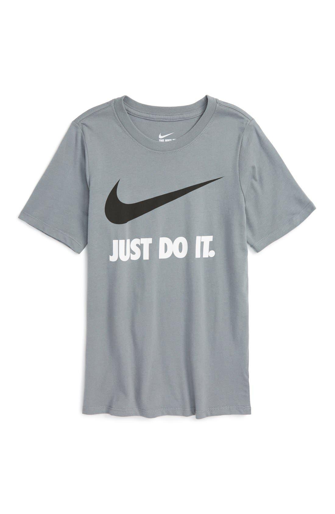 Nike Just Do It Cotton T-Shirt (Little Boys & Big Boys)