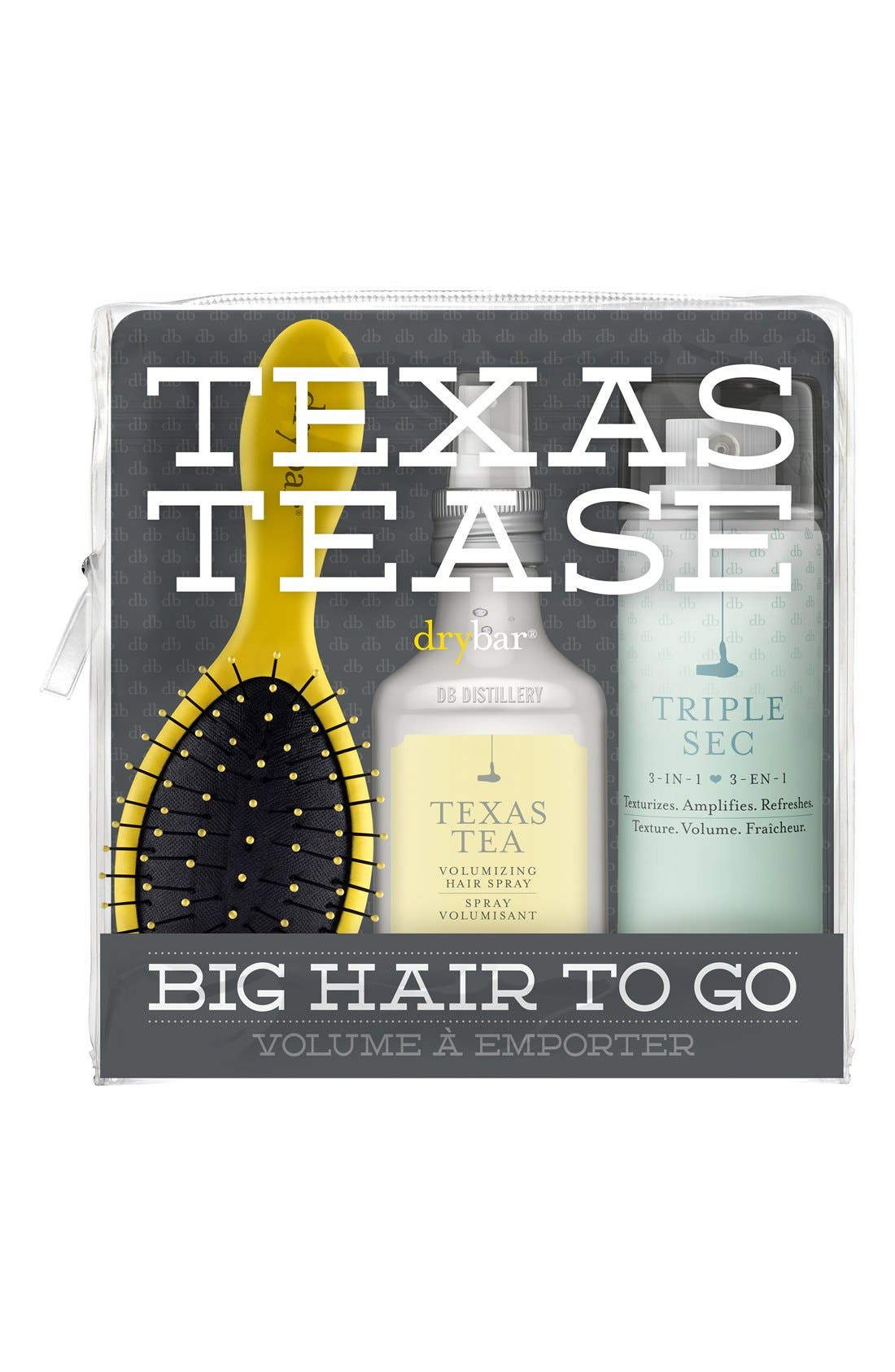 Drybar Texas Tease Big Hair to Go Set (Limited Edition) ($41 Value)