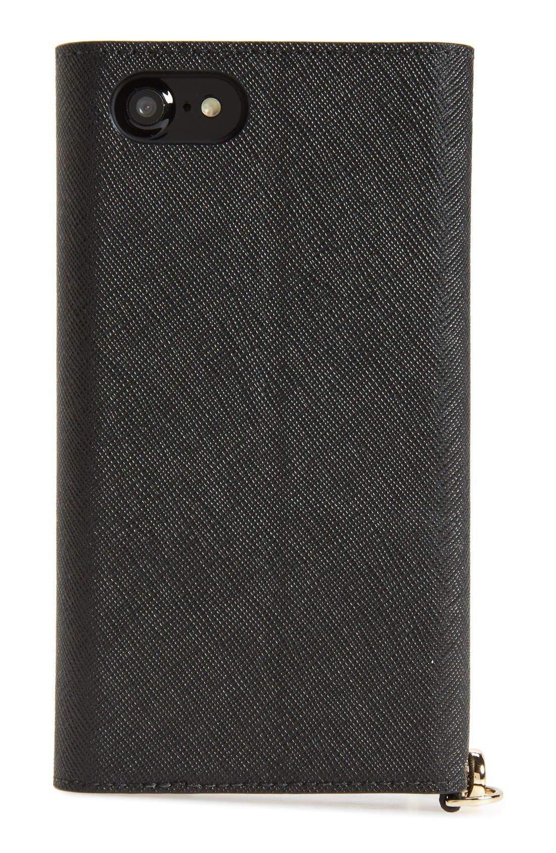 Alternate Image 4  - kate spade new york iPhone 7/8 & 7/8 Plus leather wristlet