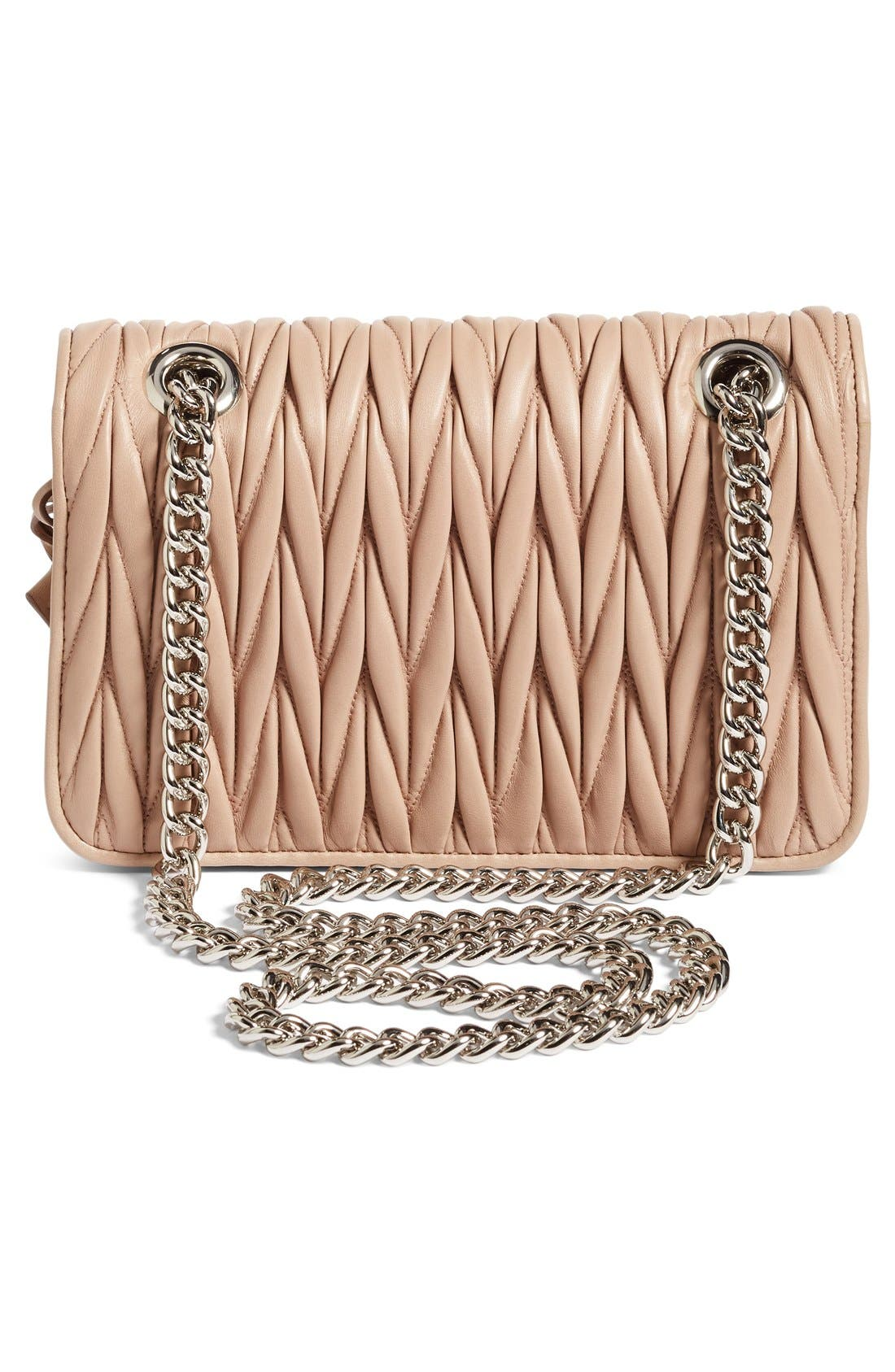 Alternate Image 3  - Miu Miu Club Matelassé Leather Shoulder Bag