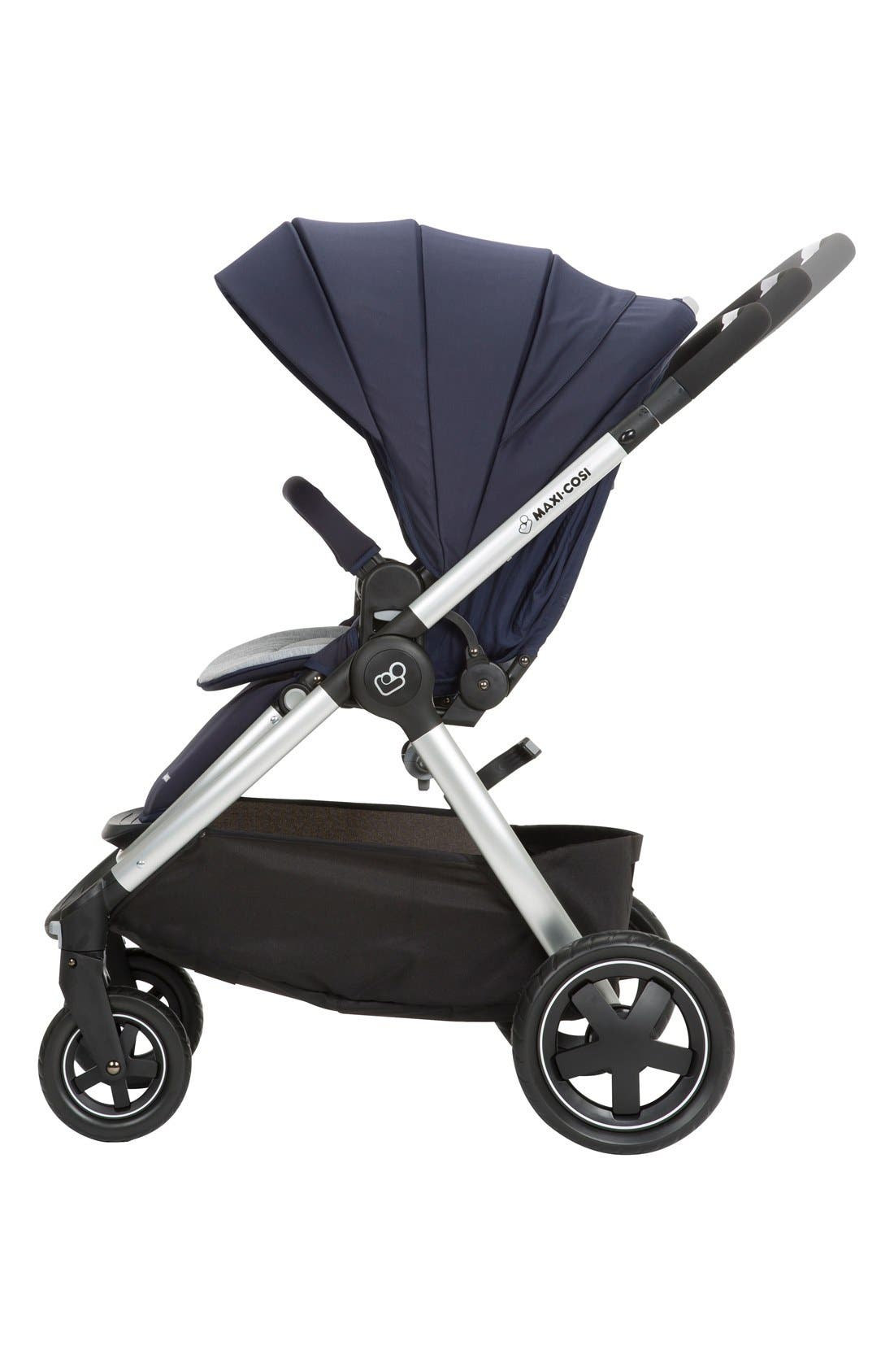 Adorra Travel System,                             Alternate thumbnail 4, color,                             Navy