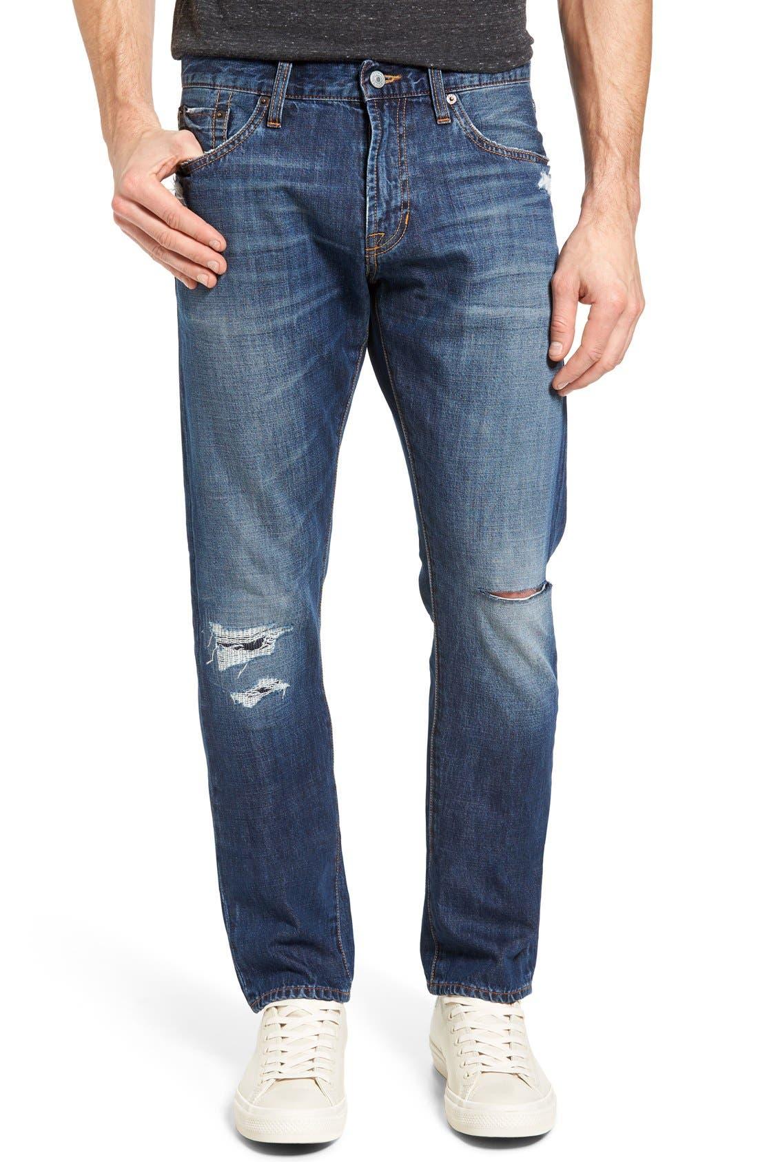 Jean Shop Slim Straight Leg Selvedge Jeans (Mid Authentic)