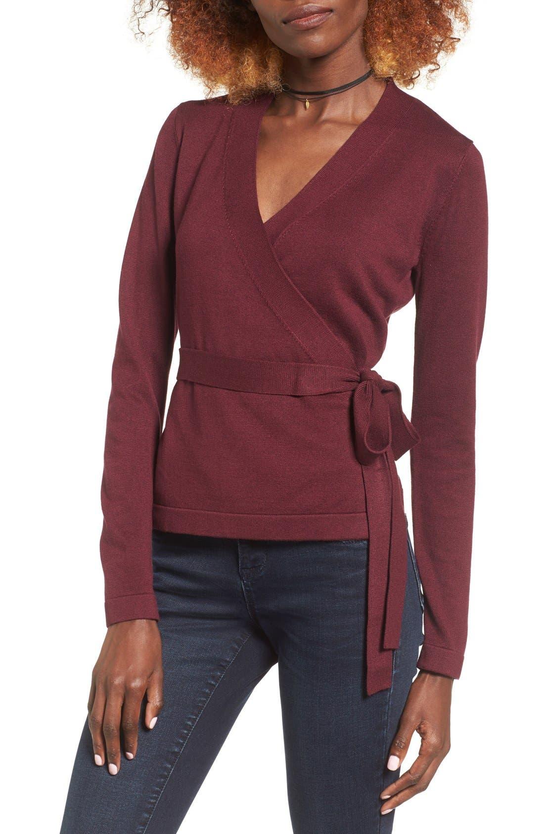 Main Image - Glamorous Wrap Sweater