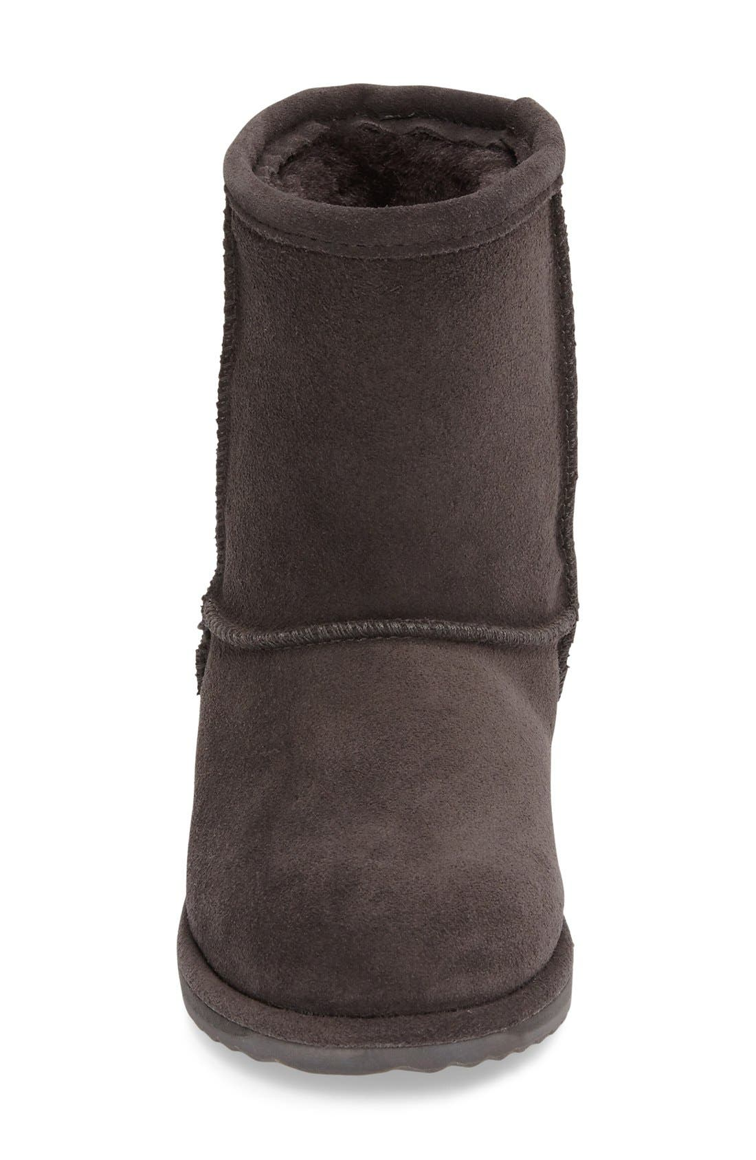 Brumby Waterproof Boot,                             Alternate thumbnail 3, color,                             Charcoal Suede
