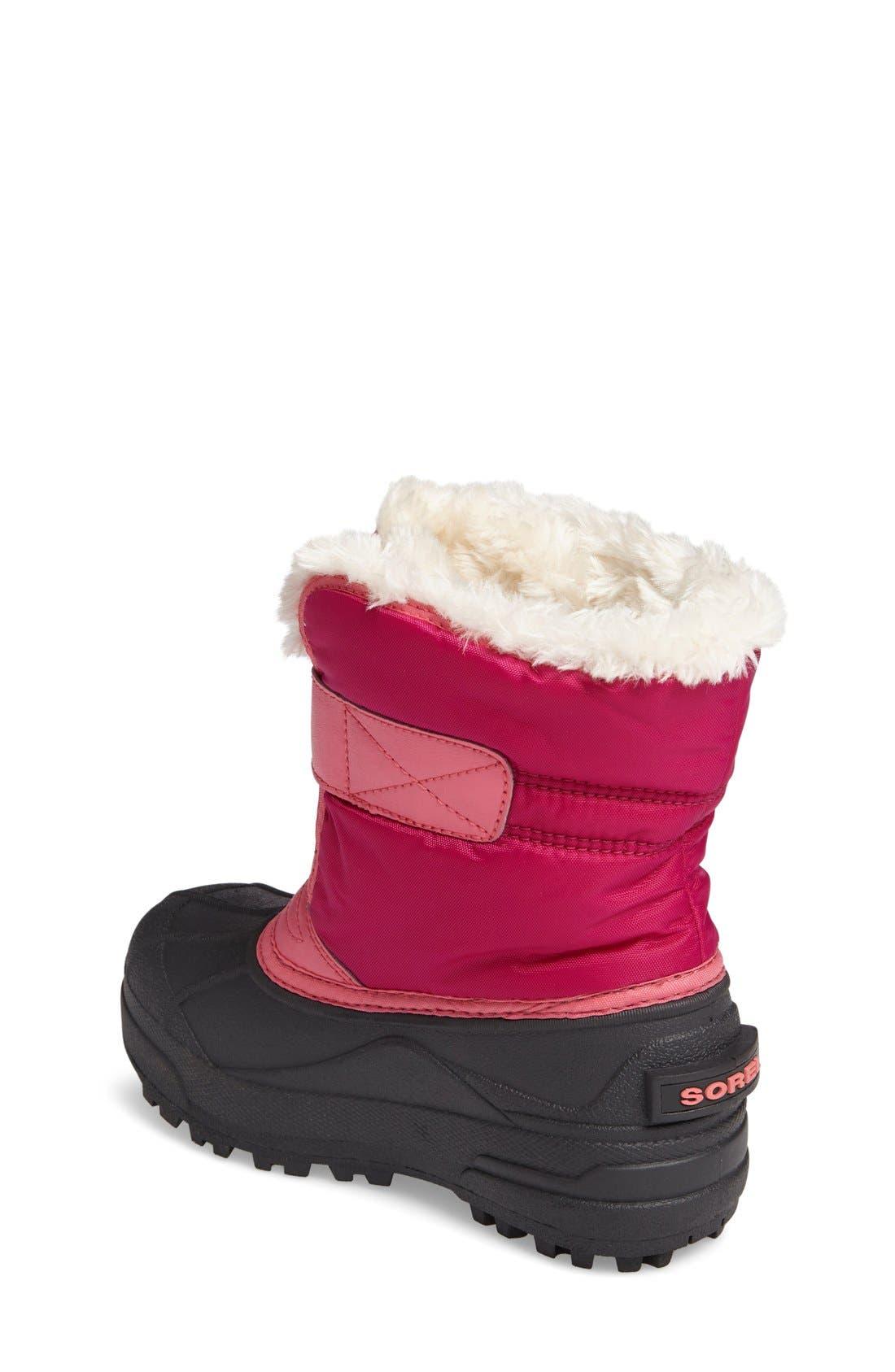 'Snow Commander' Boot,                             Alternate thumbnail 2, color,                             Tropic Pink/ Deep Blush