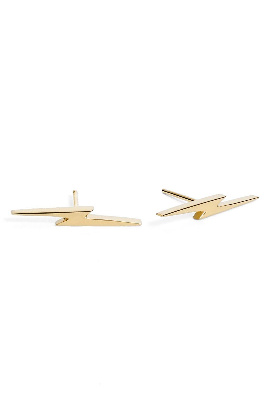 Shinola Bolt Stud Earrings