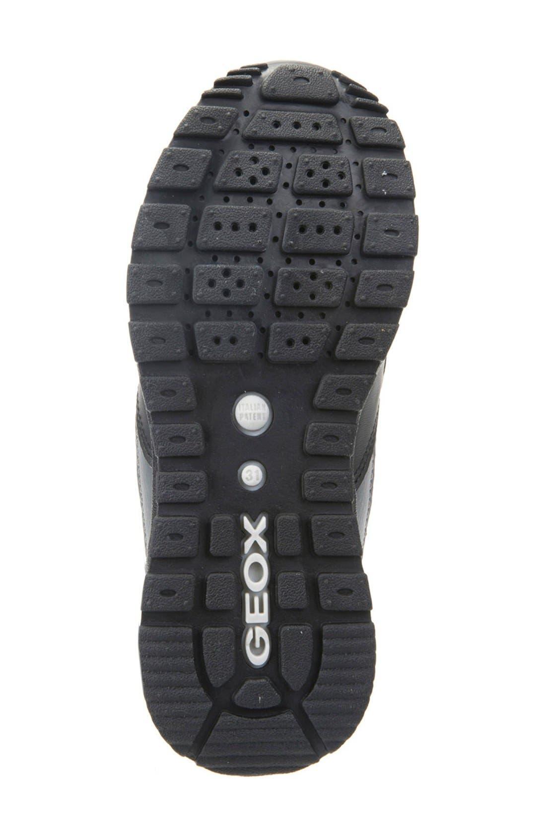 Pavel Sneaker,                             Alternate thumbnail 4, color,                             Dark Grey/ Black