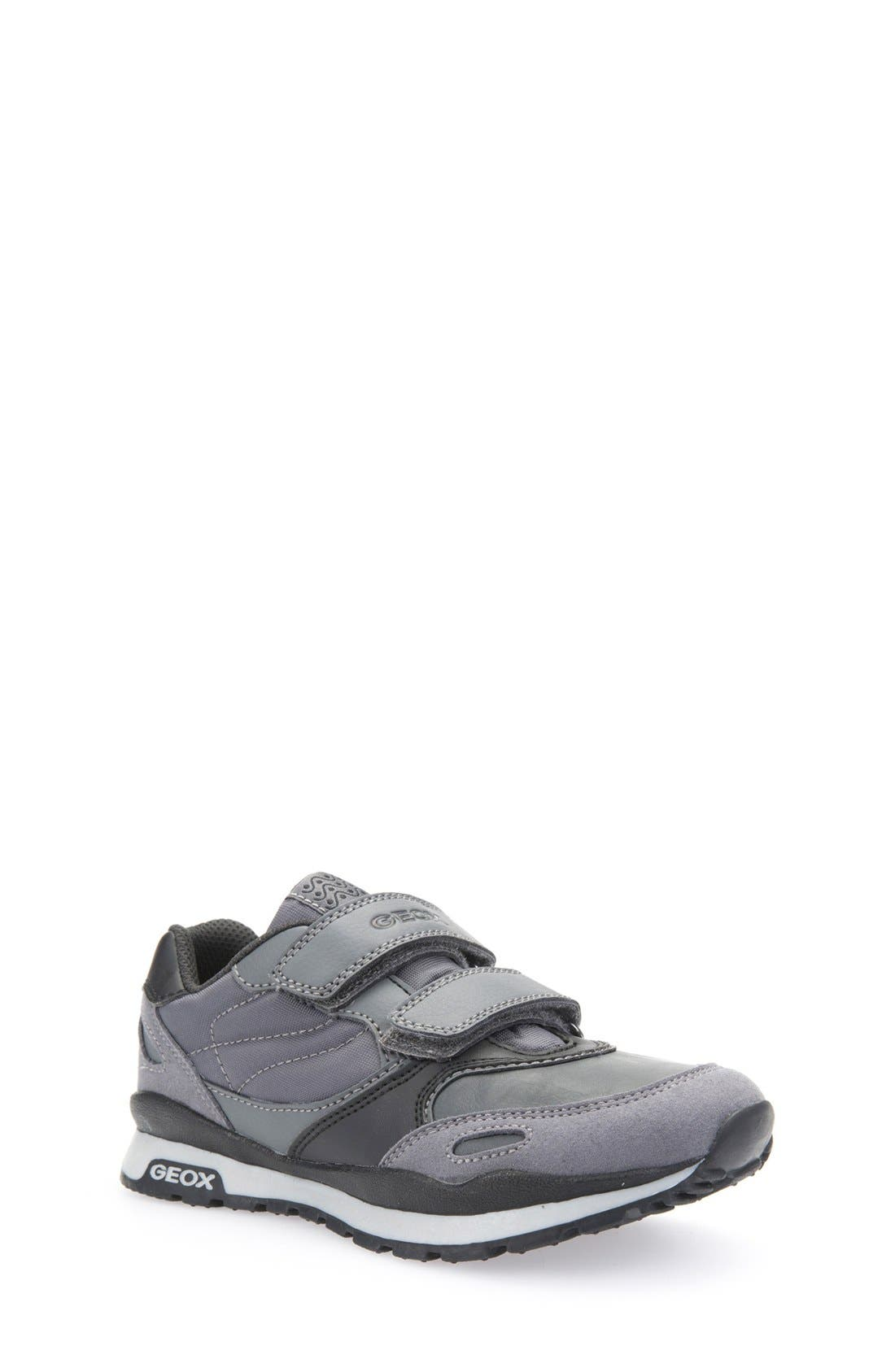 Pavel Sneaker,                         Main,                         color, Dark Grey/ Black