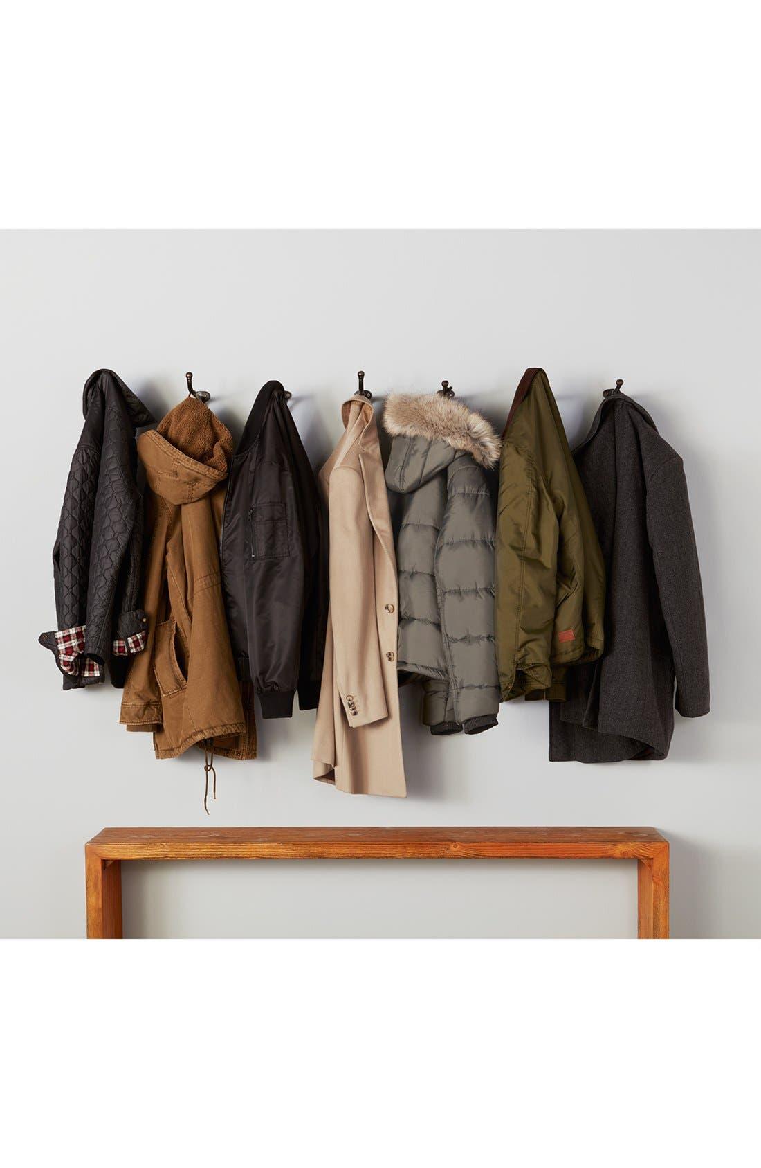 Alternate Image 6  - Pendleton Manhattan Herringbone Wool Blend Reefer Coat