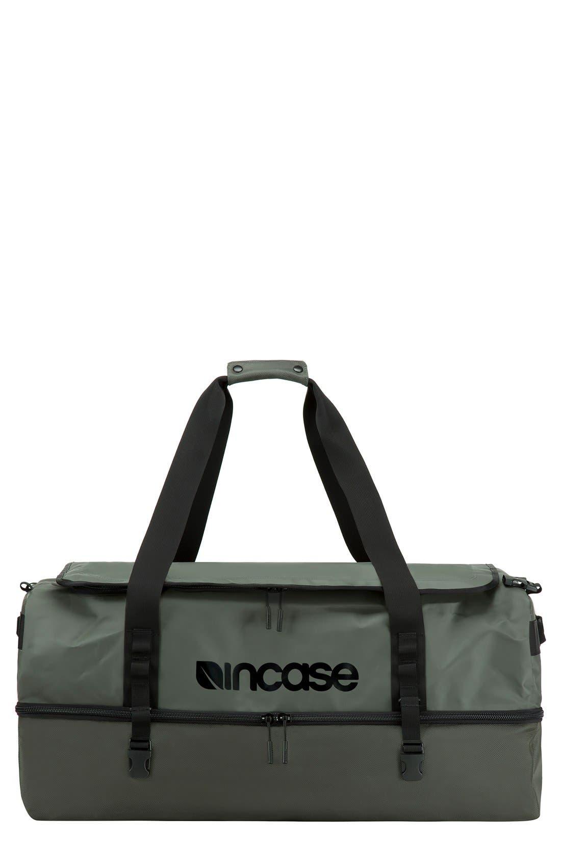 TRACTO Large Split Convertible Duffel Bag,                             Main thumbnail 1, color,                             Anthracite