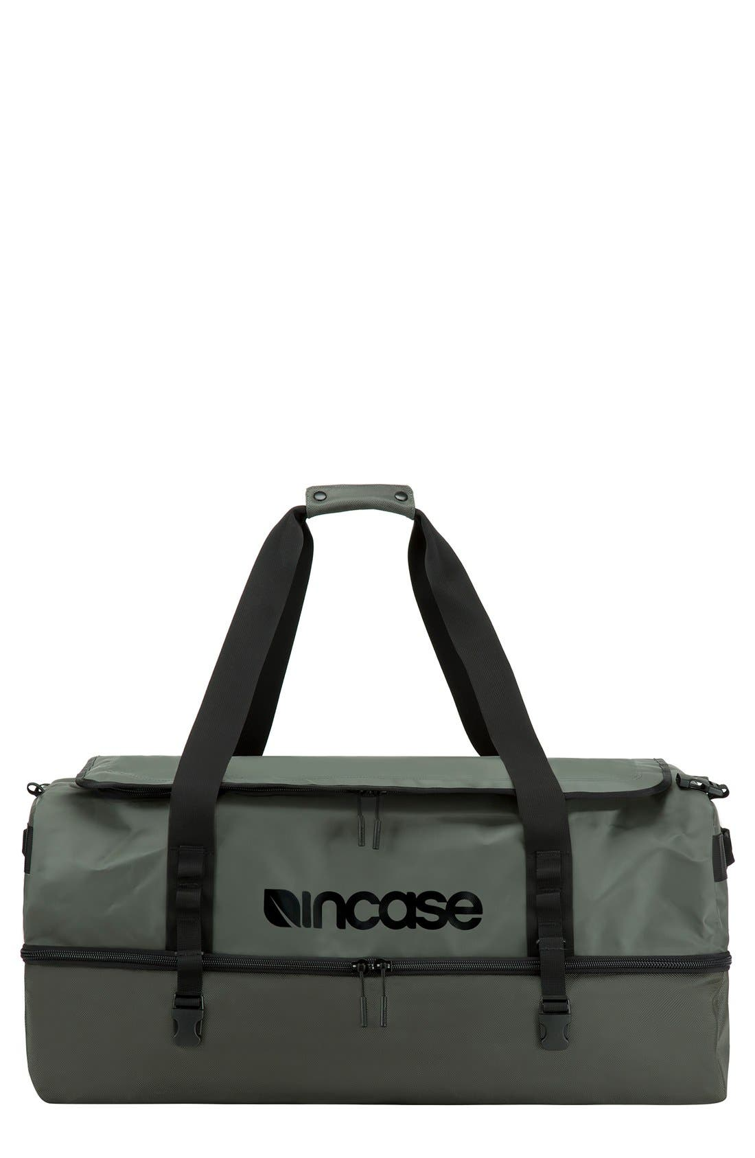 TRACTO Large Split Convertible Duffel Bag,                         Main,                         color, Anthracite