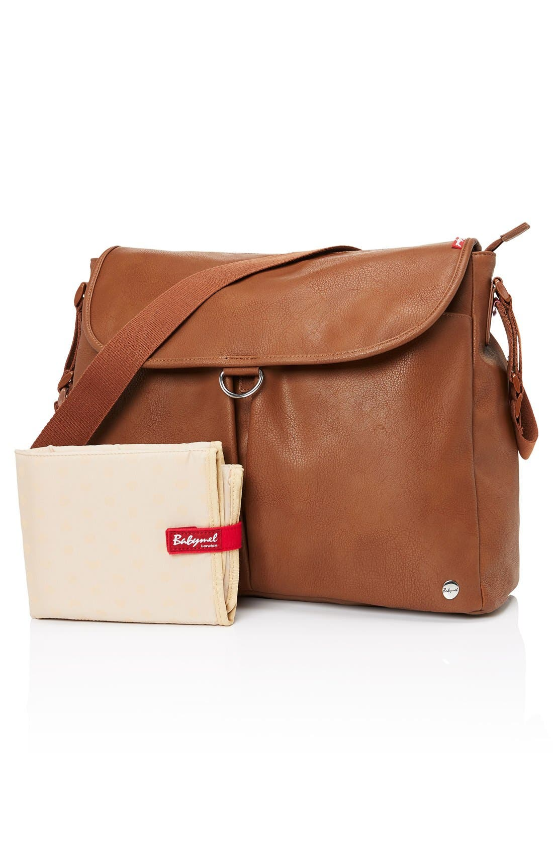 Alternate Image 3  - Babymel Ally Faux Leather Diaper Bag