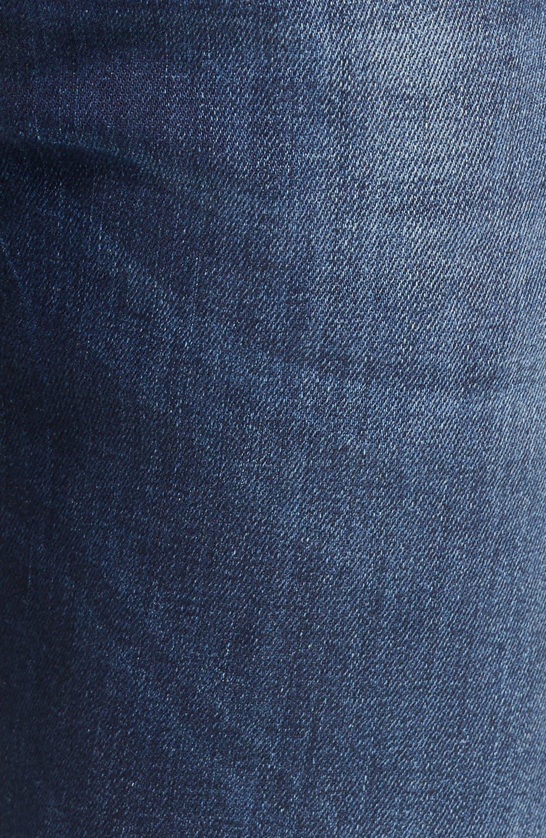 Alternate Image 5  - DIESEL® Buster Slim Straight Leg Jeans (860L)