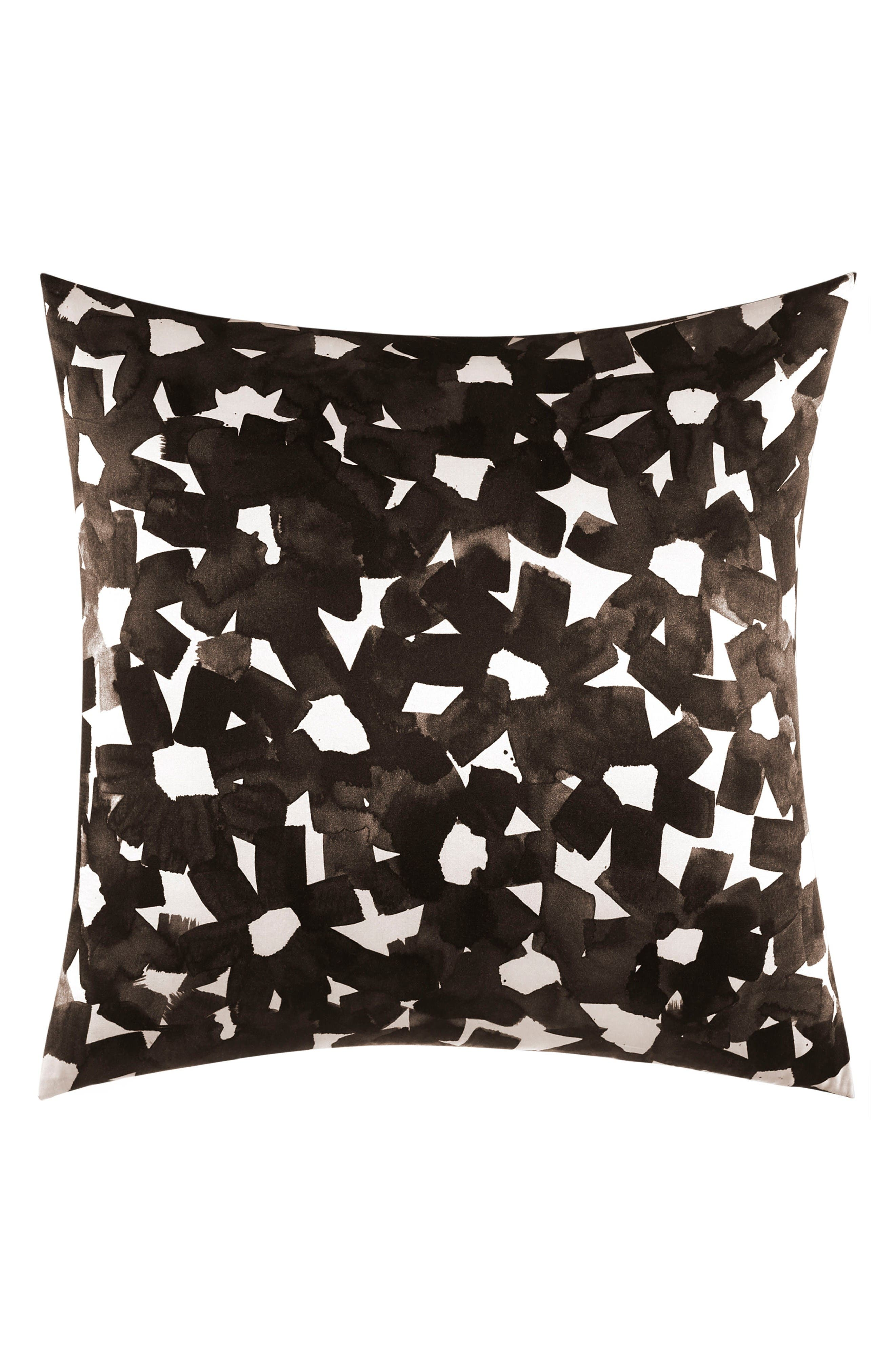 kate spade new york inky floral accent pillow